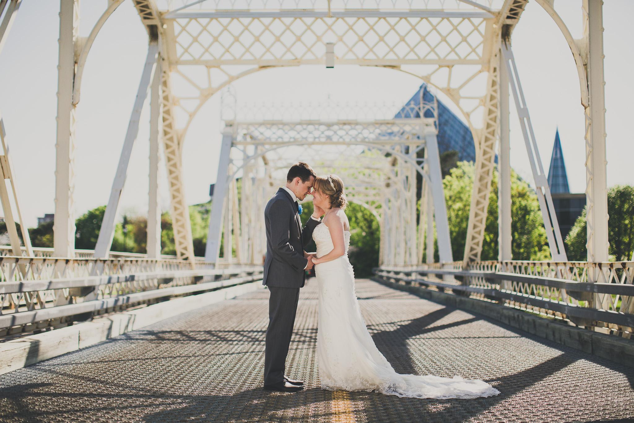 white metal bridge in ottawa