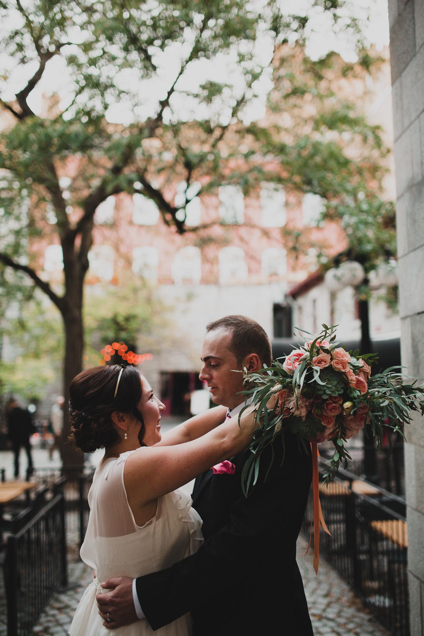 Intimate, romantic Eastern Ontario Wedding