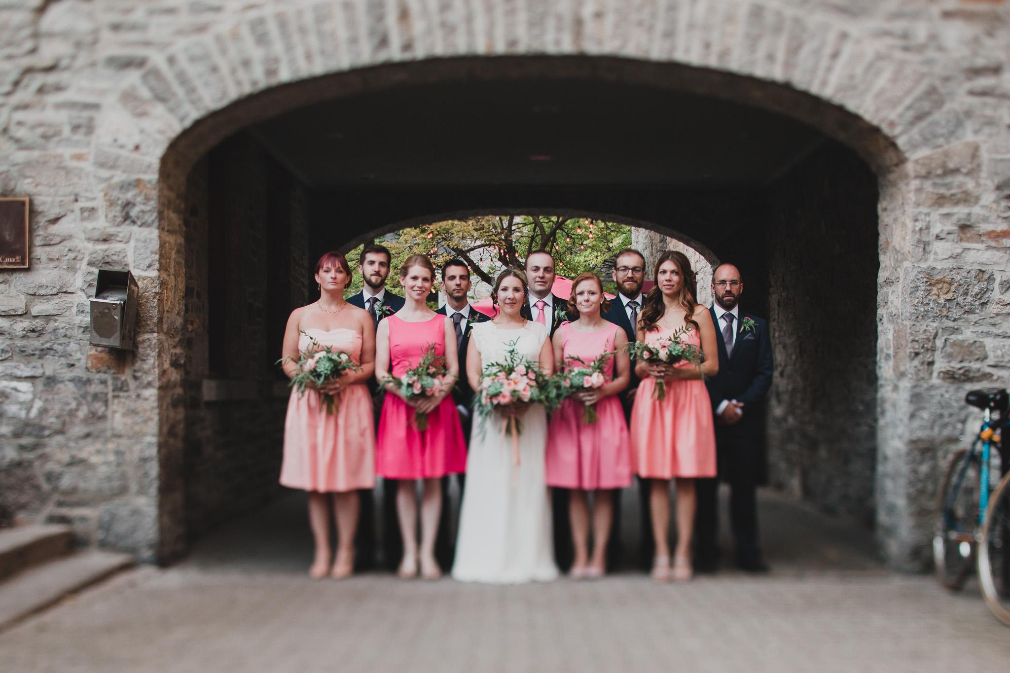 Tilt Shift Wedding Photos