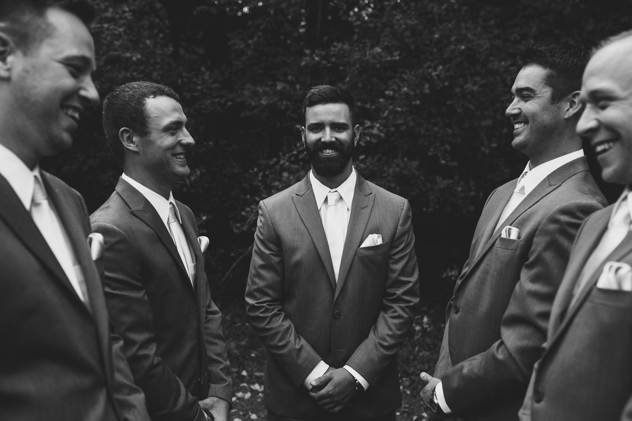 Creative Canadian Wedding Photograph