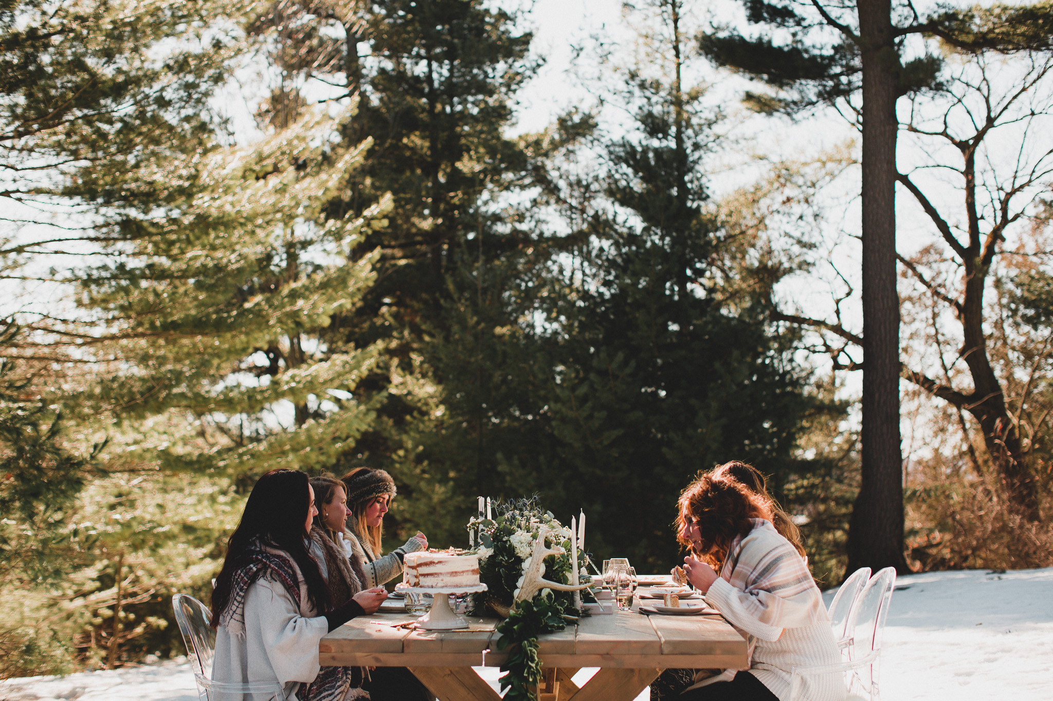Outdoorsy Woodsy Wedding Style