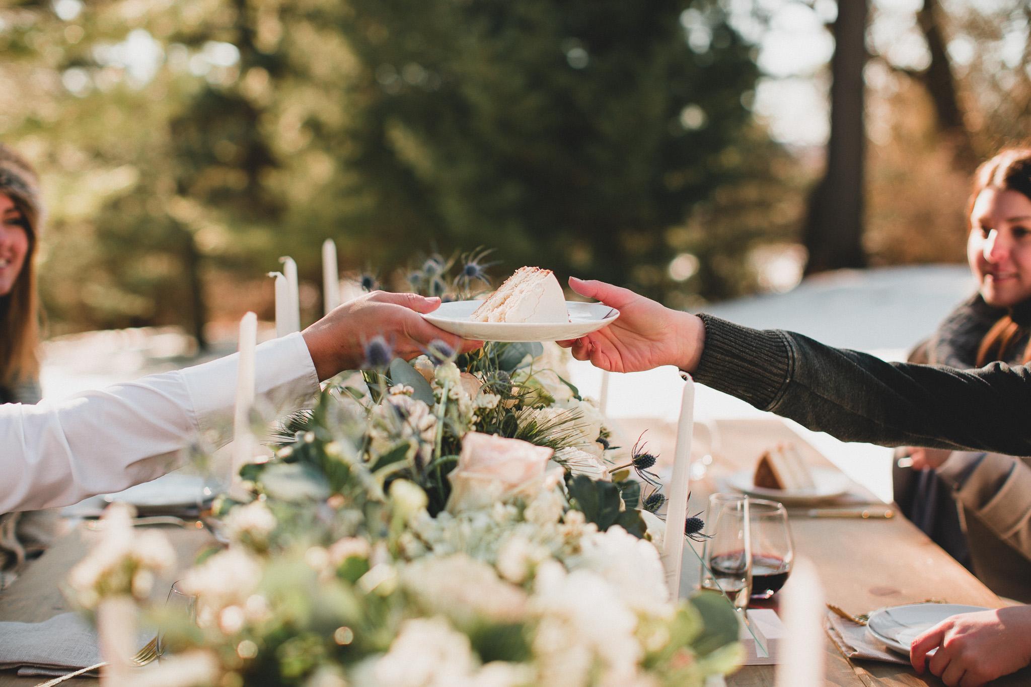 Intimate Outdoor Wedding Eastern Ontario