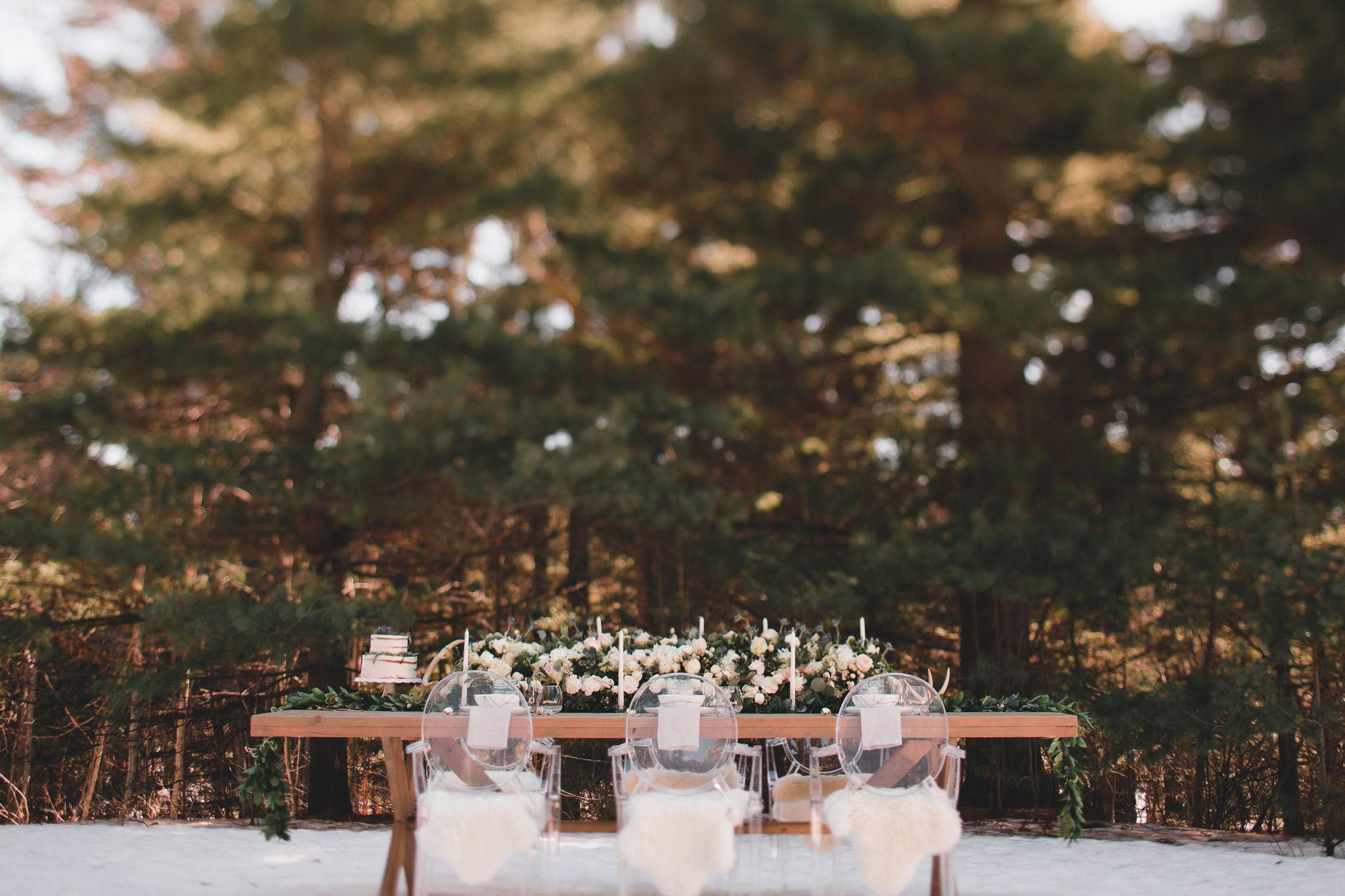 Modern woodsy weddings Ottawa