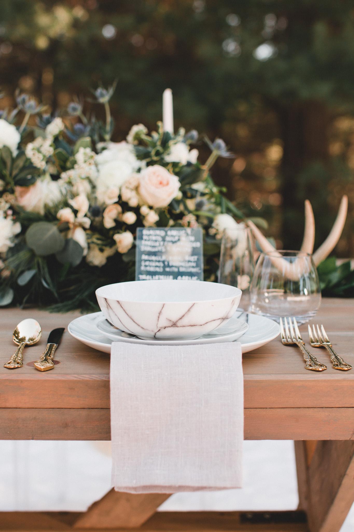 Marble Wedding Decor, Trends