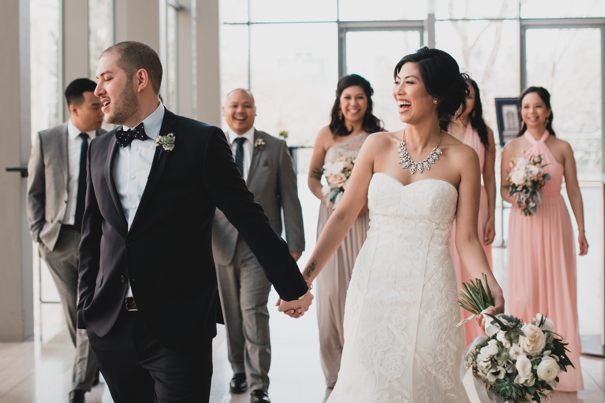 Candid Group Wedding Photos