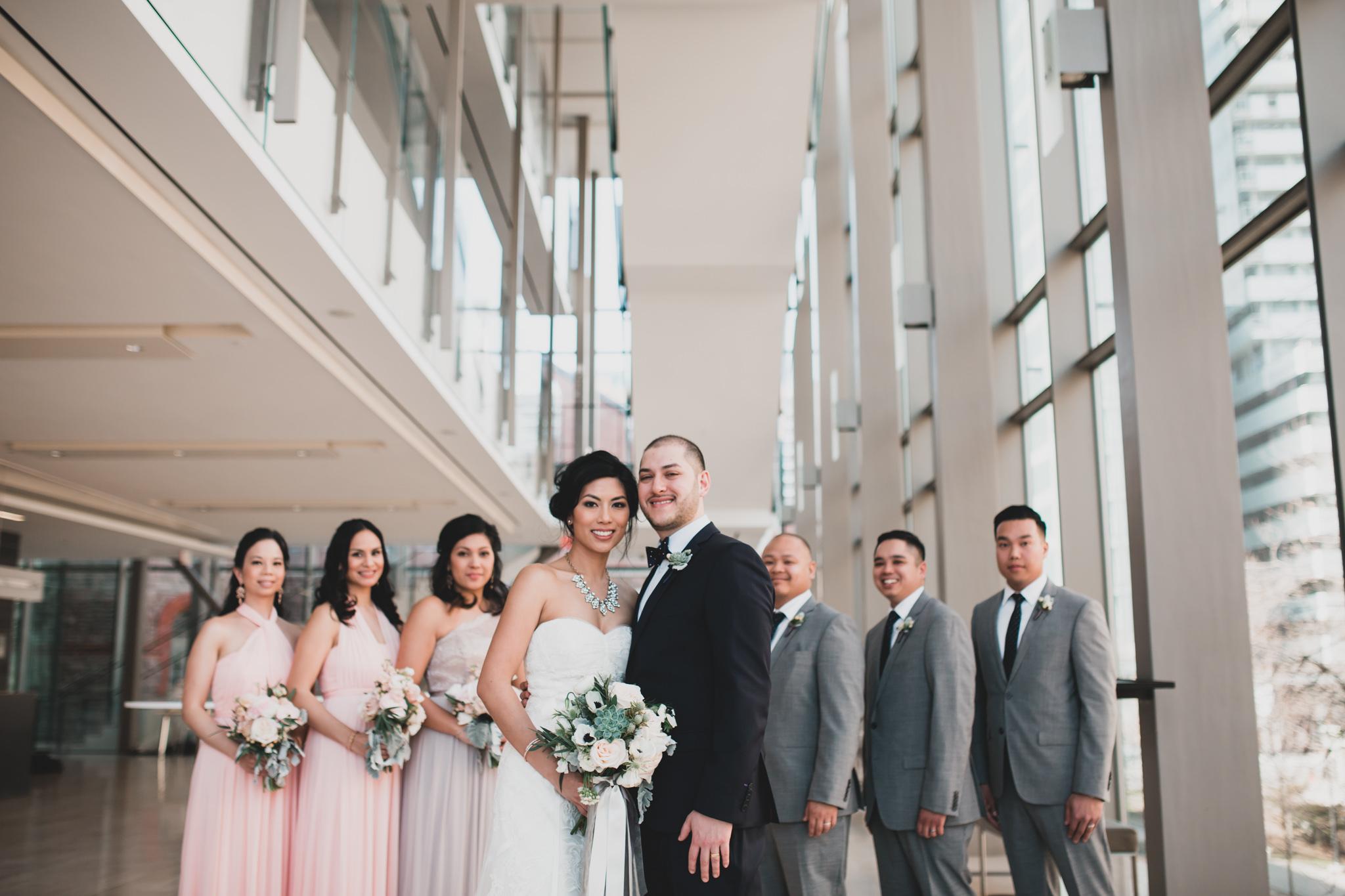 Royal Conservatory Toronto Wedding Photos