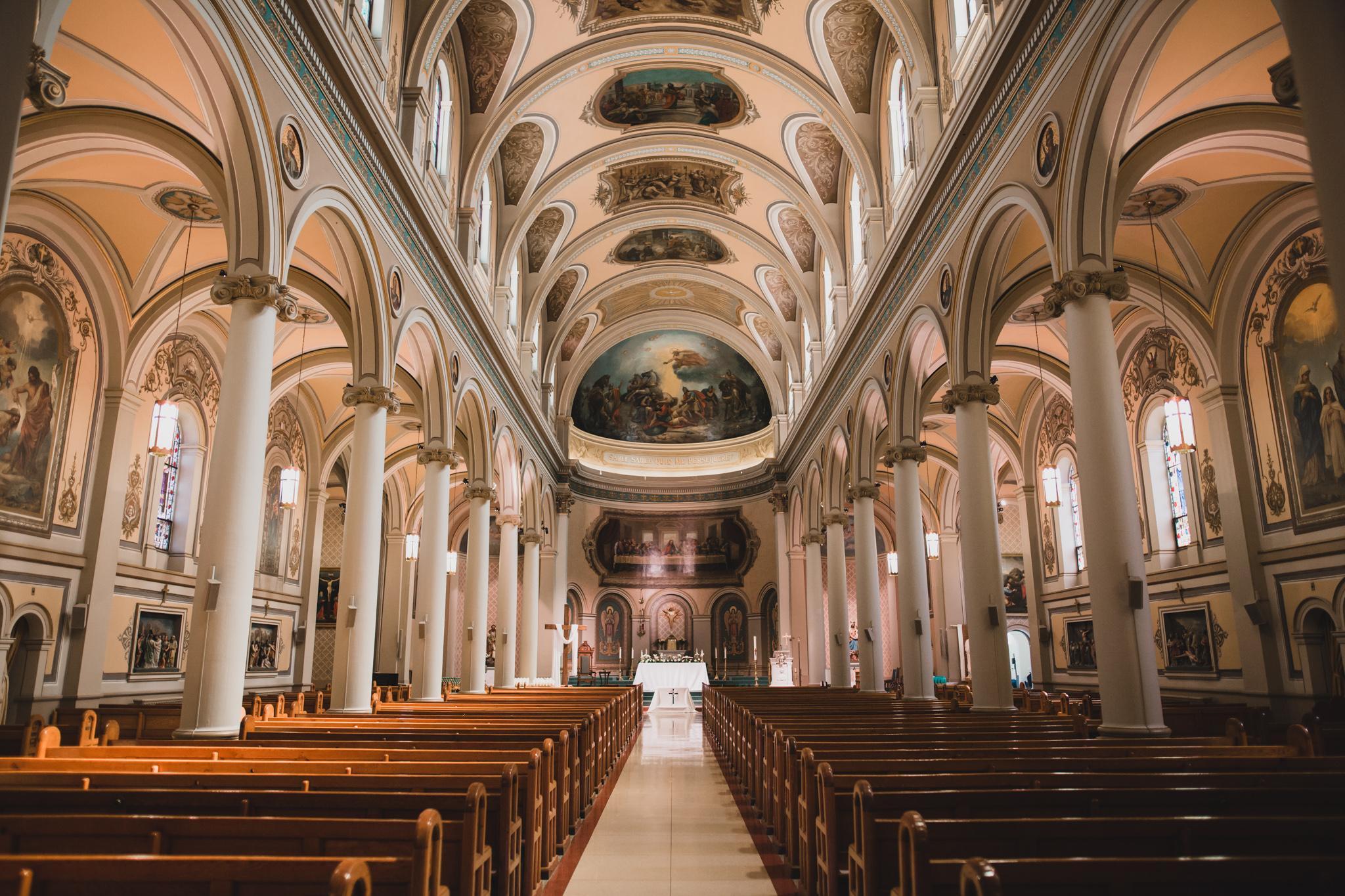 St. Paul's Basilica Toronto Queen St.