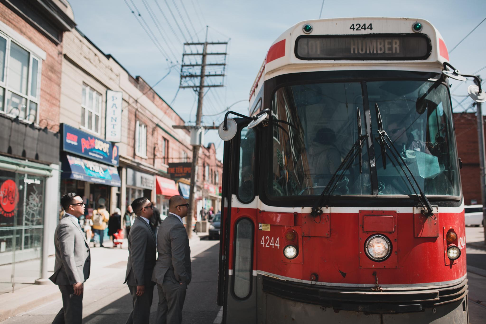 Queen St. Toronto Street Car