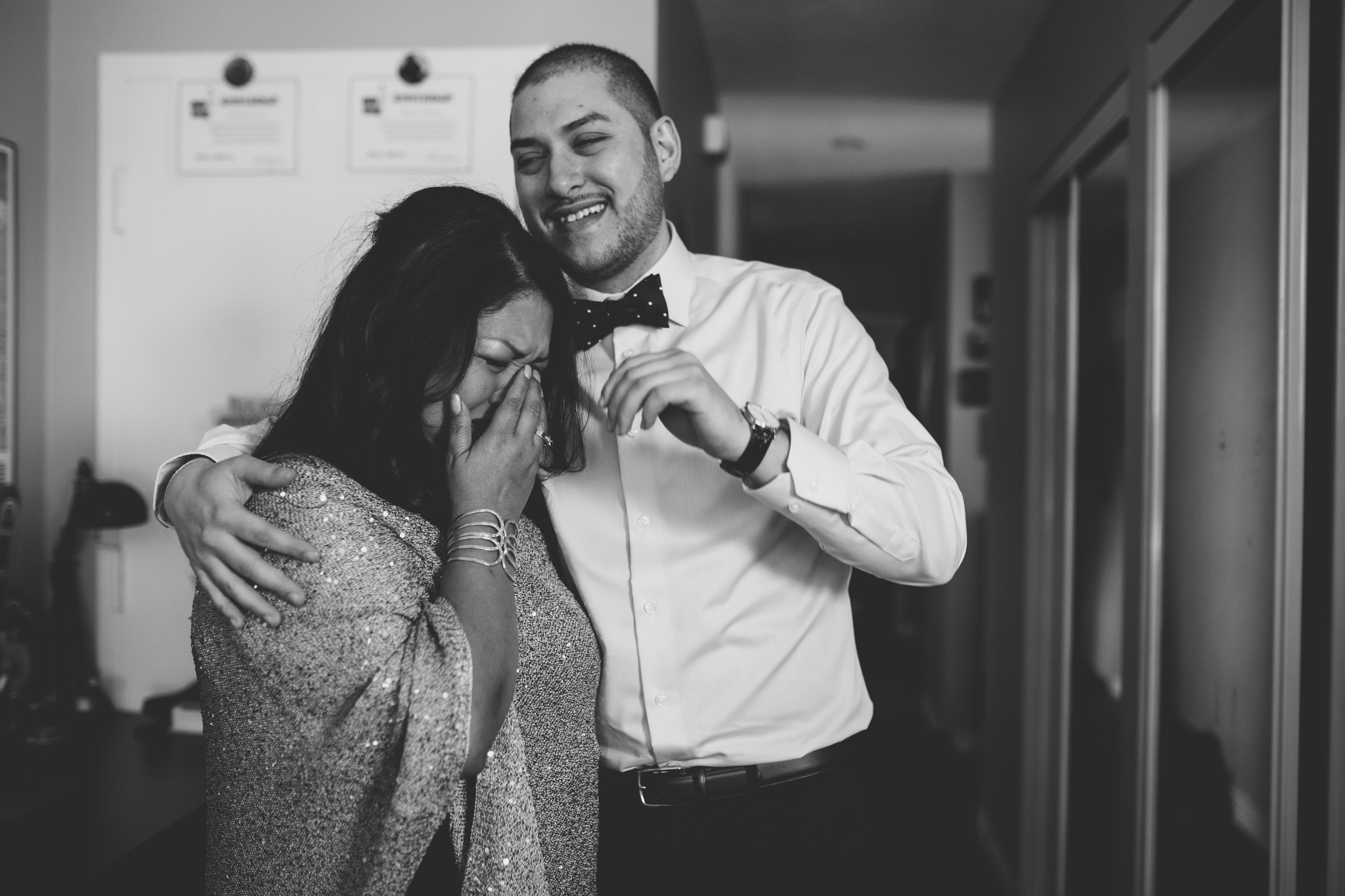 Emotional Candid Wedding Photographer