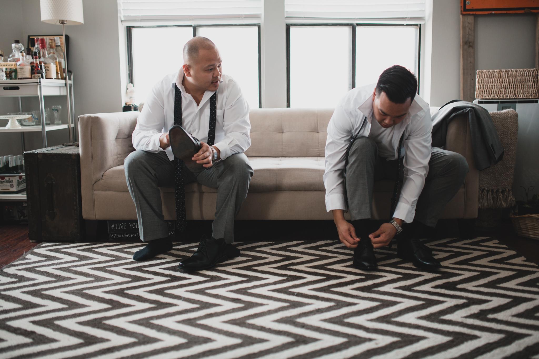 Alternative Canadian Wedding Photographer