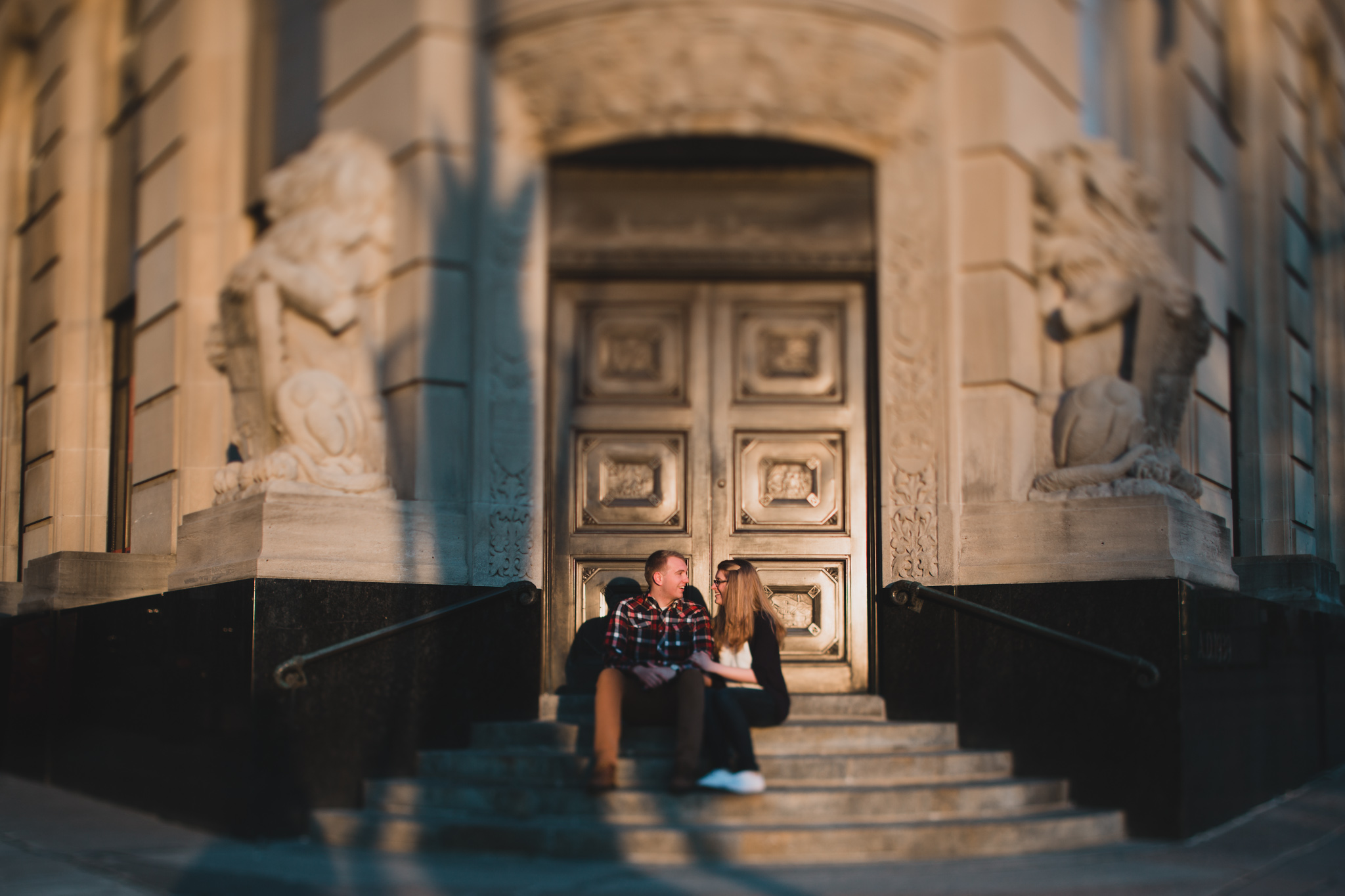 Elgin and Sparks Street Engagement photos