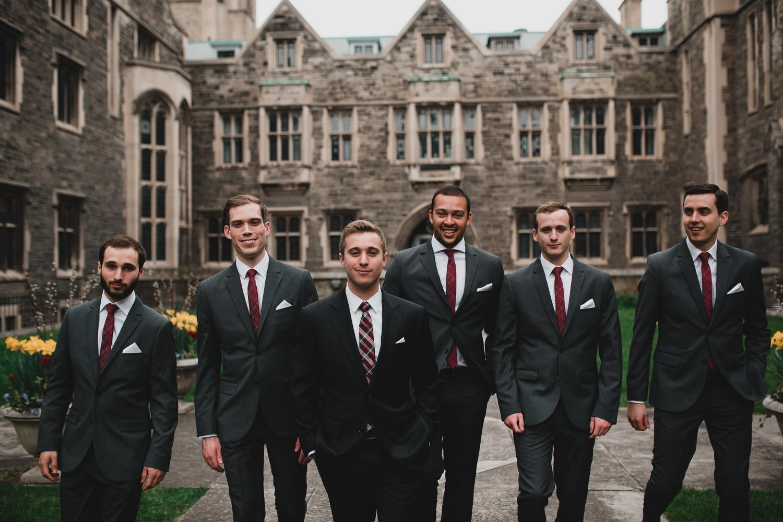 Hart House Wedding Portraits