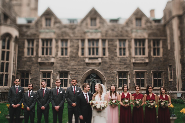 University of Toronto, Wedding Photography