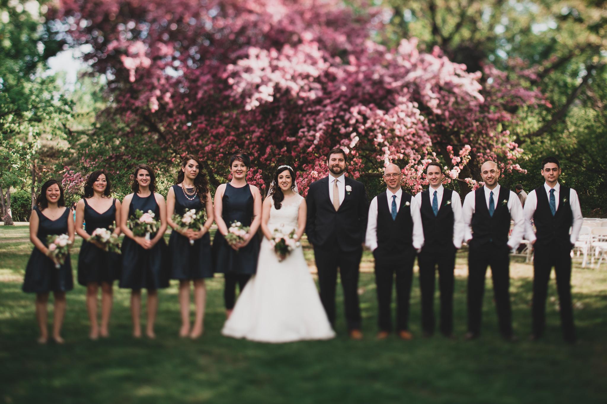 Billings Estate Wedding Portraits