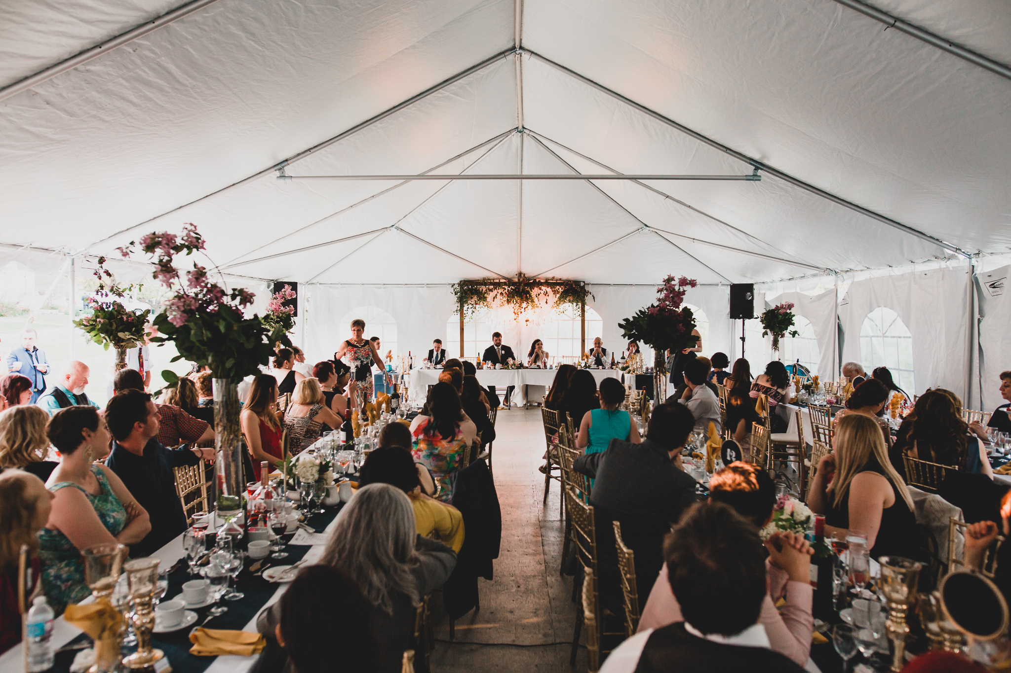 Ottawa tent outdoor wedding venue