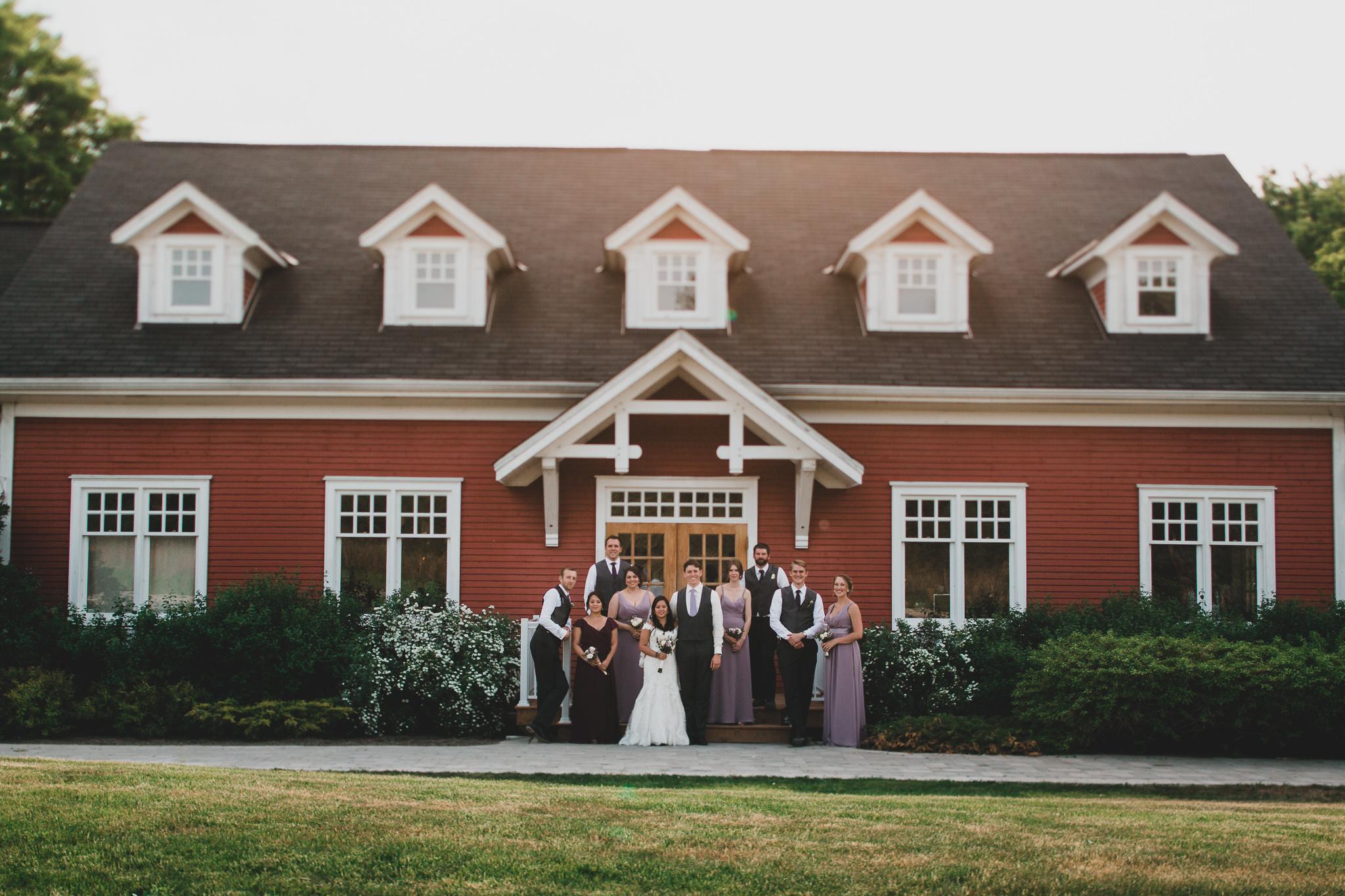 Non-banquet hall wedding venues in Eastern Ontario