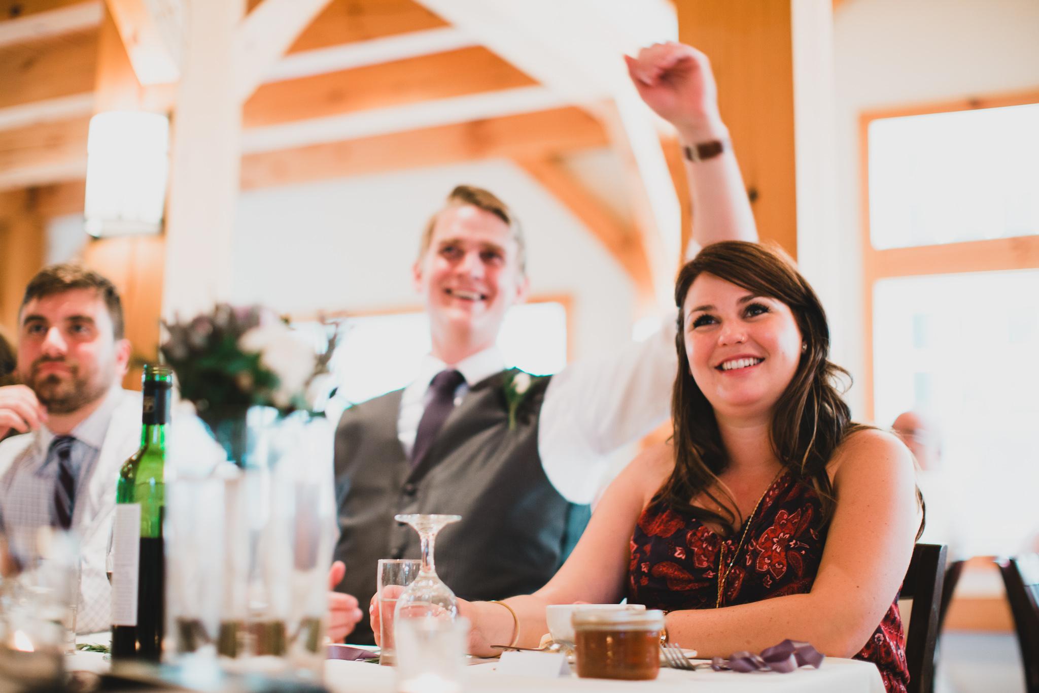 Natural and candid wedding photos