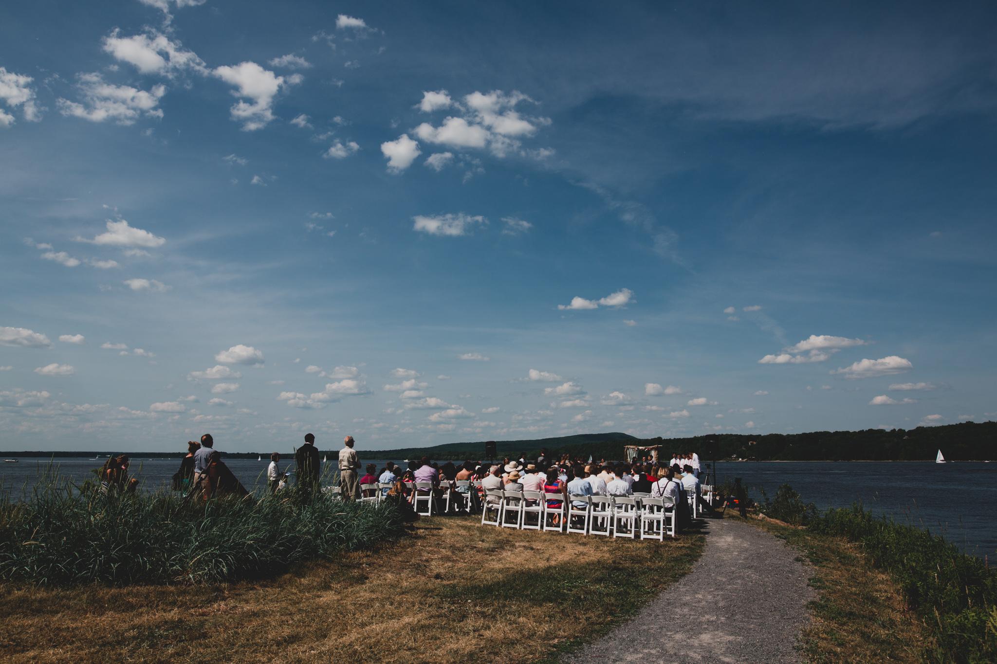 Hudson Quebec Wedding Ceremony