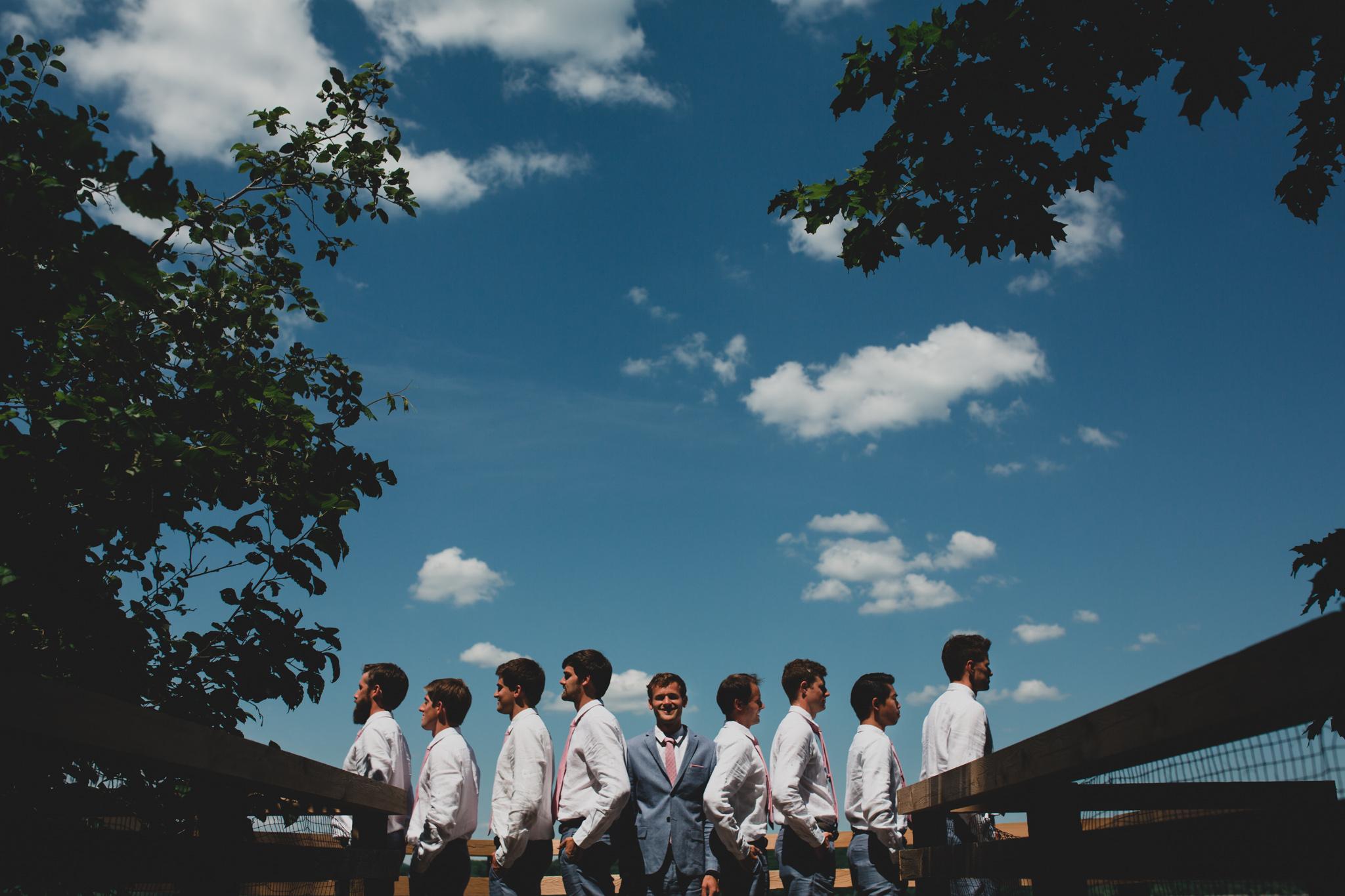 Creative wedding photos Eastern Ontario