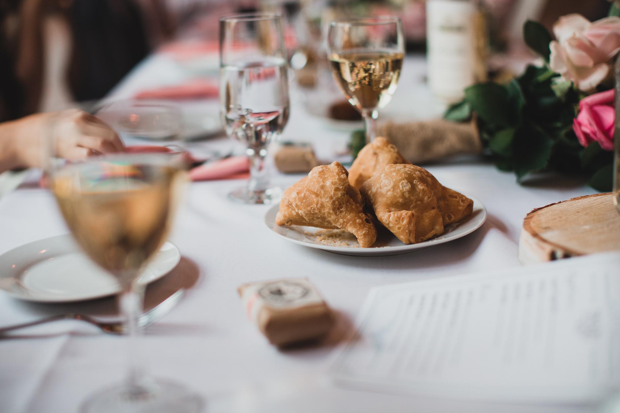 Sri Lankan catered wedding meal
