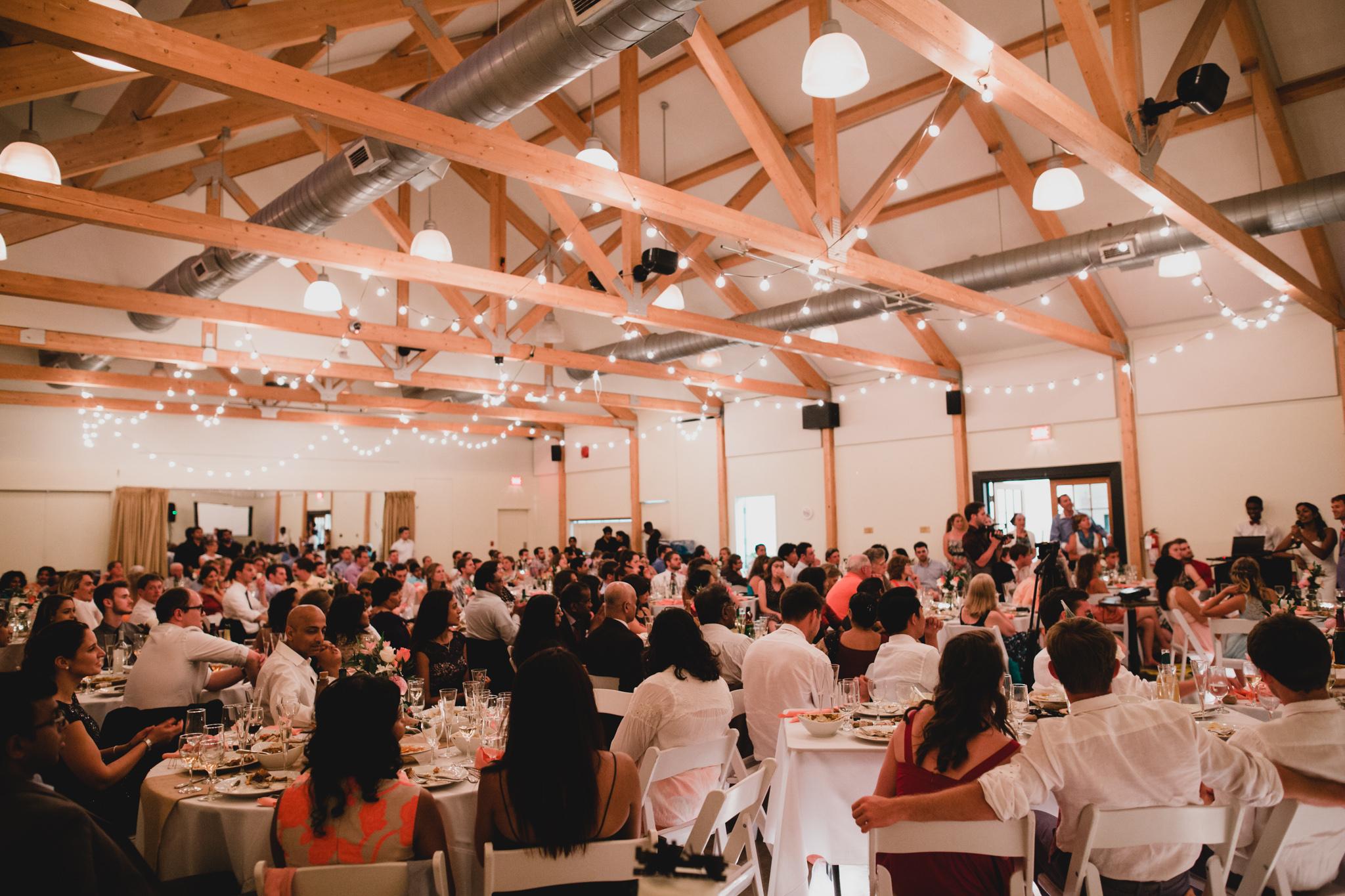 Hudson Quebec Community Centre Wedding