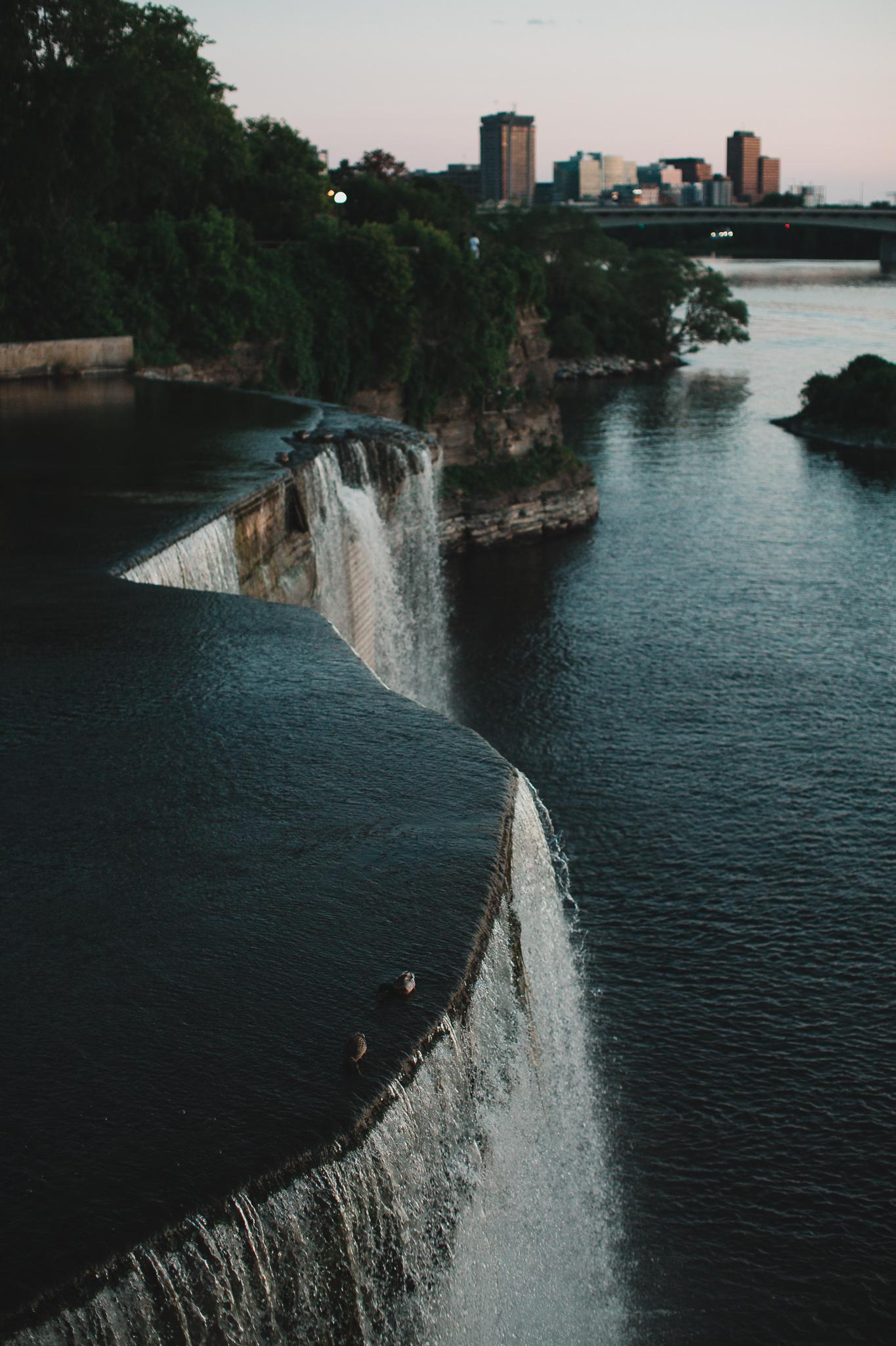 Rideau Falls, Downtown Ottawa