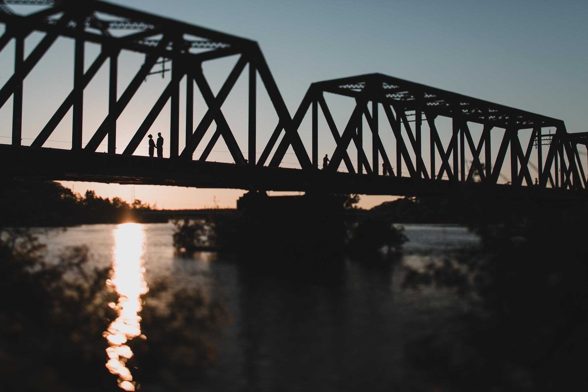 Ottawa train bridge 2016 closure, Prince of Wales