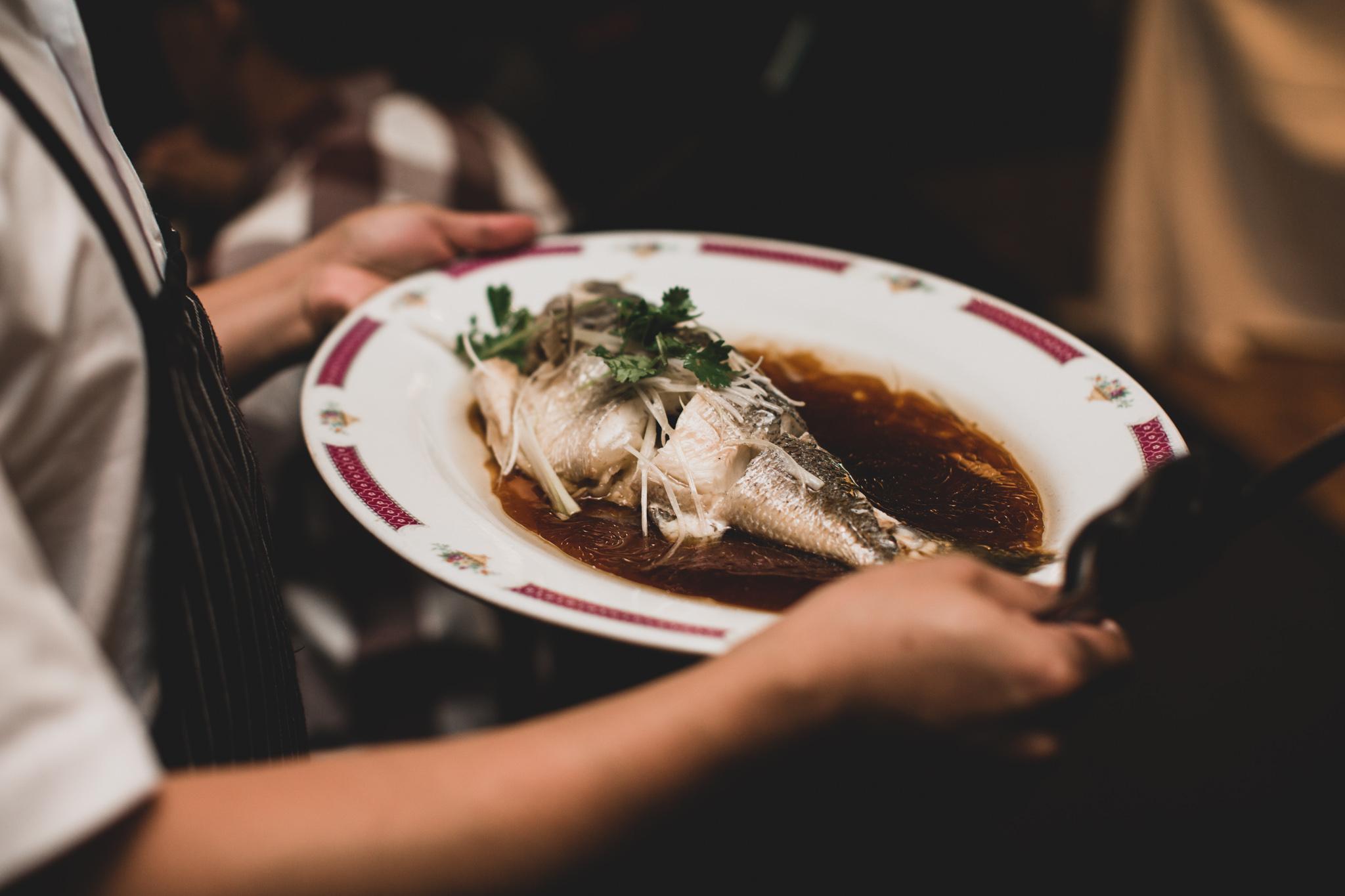 10 Course Wedding Dinner, Yangtze Restaurant, Somerset