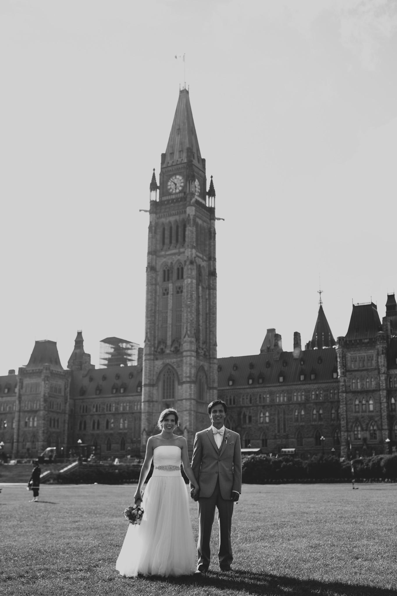 Ottawa destination wedding, parliament