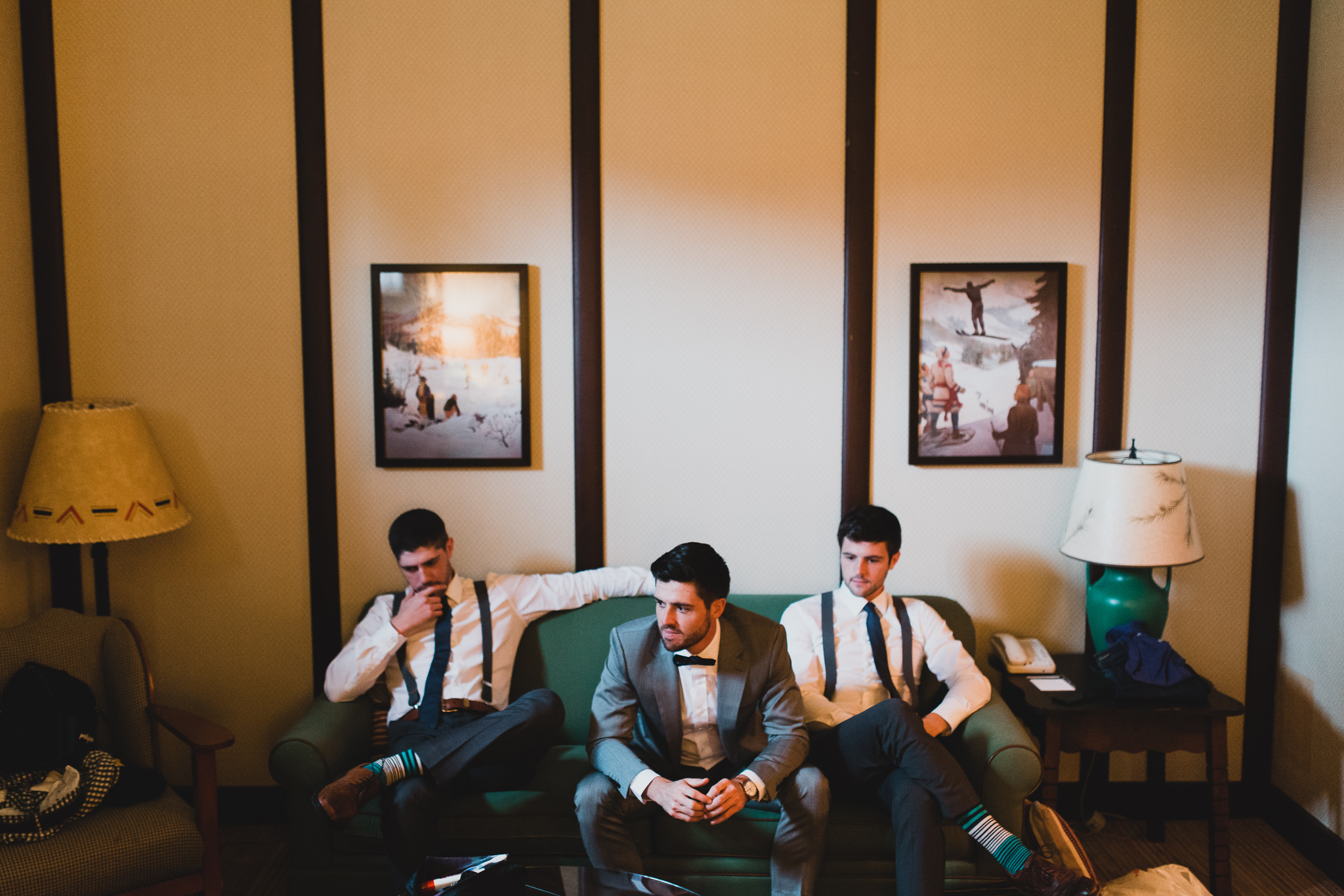 Vintage styled, Montebello Hotel Rooms, Groom