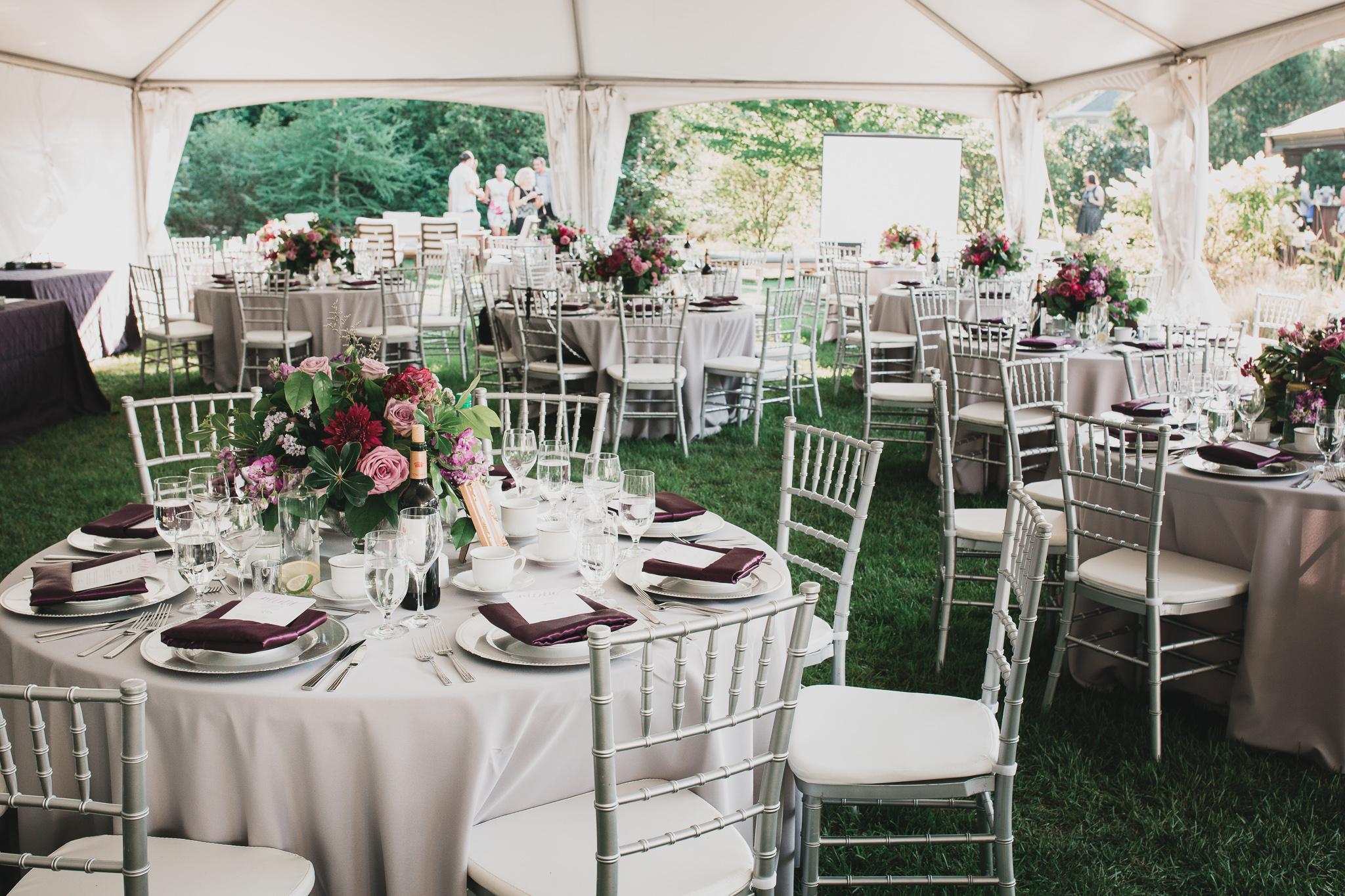 Classy Outdoor Tent Wedding Ottawa