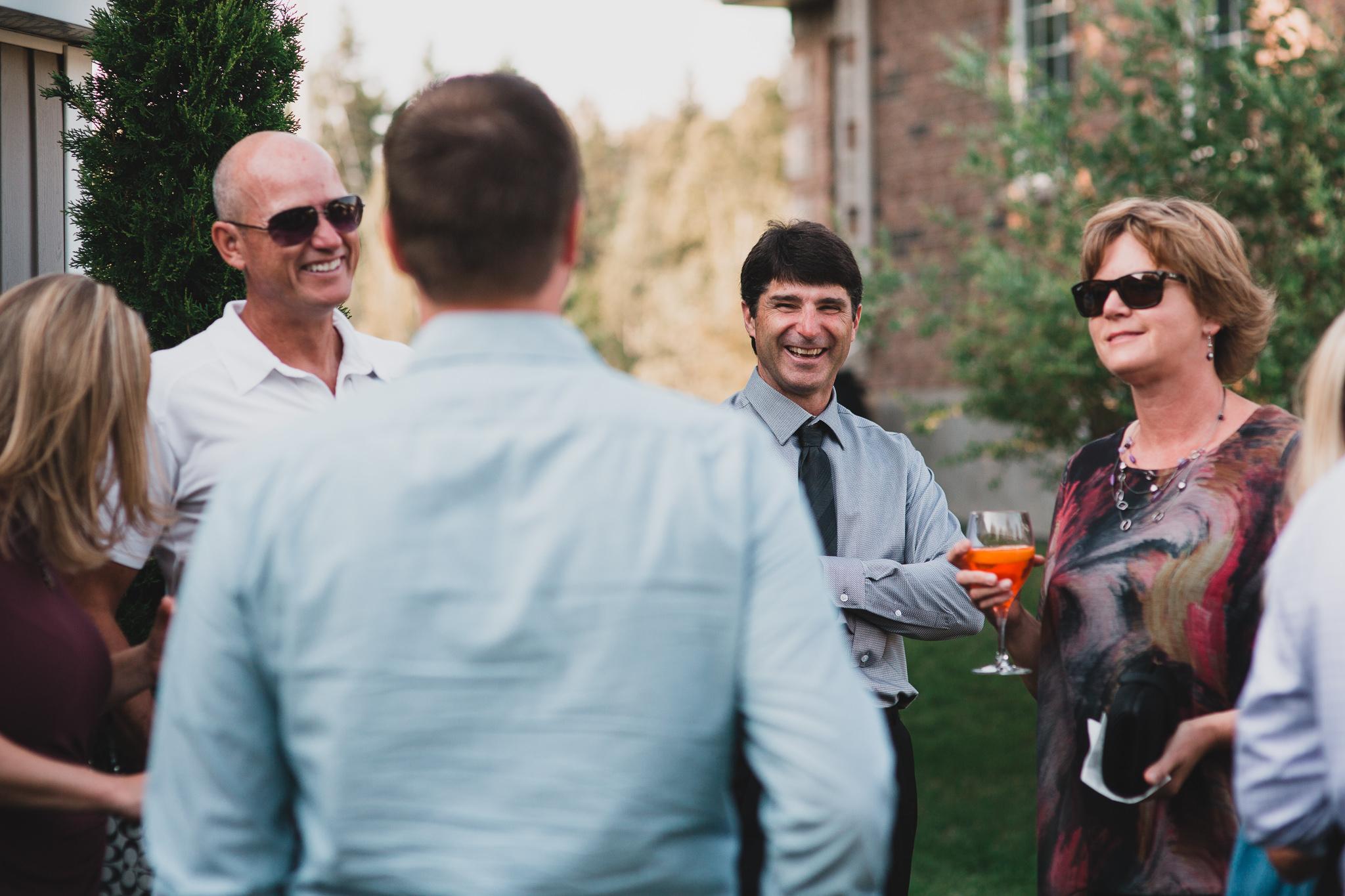 Candid wedding coverage, Ottawa photographer