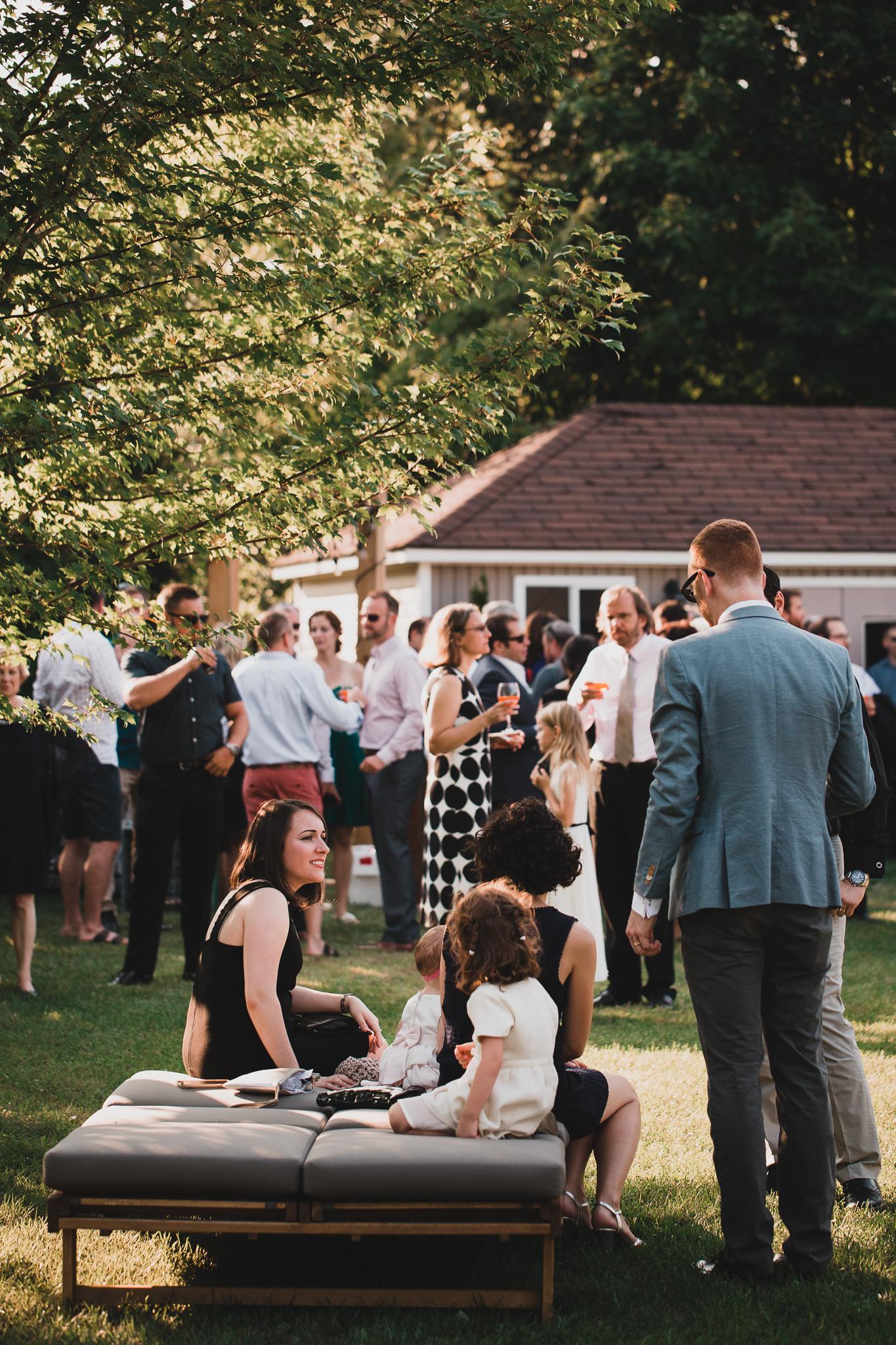 Casual, outdoor weddings in Ottawa Ontario
