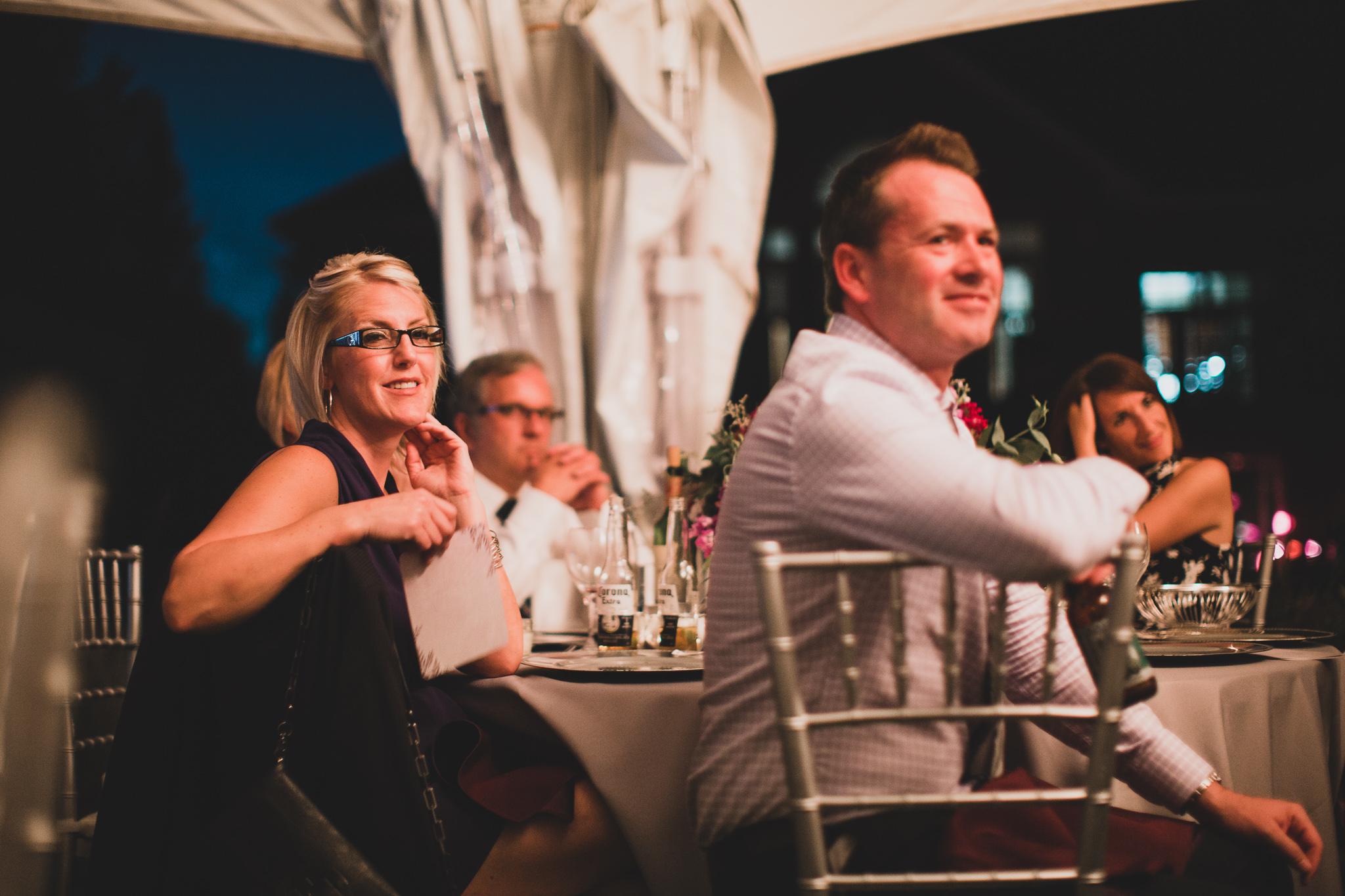 Evening & reception wedding coverage