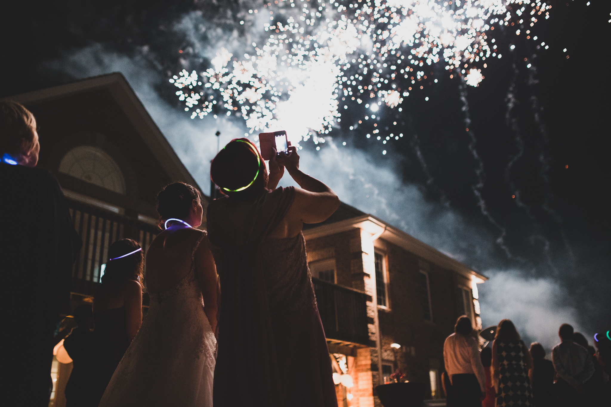 Fireworks Ottawa Wedding