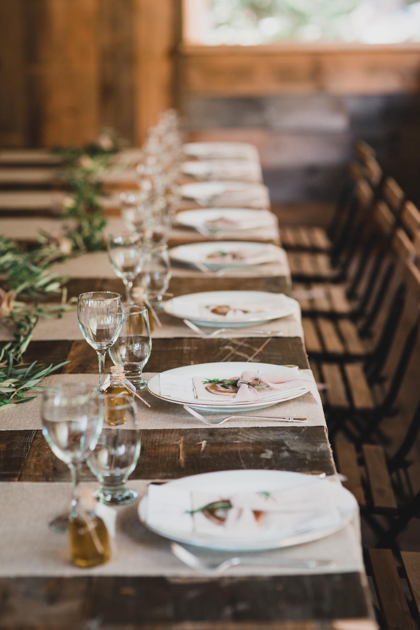 Greenery and Organic Wedding Decor