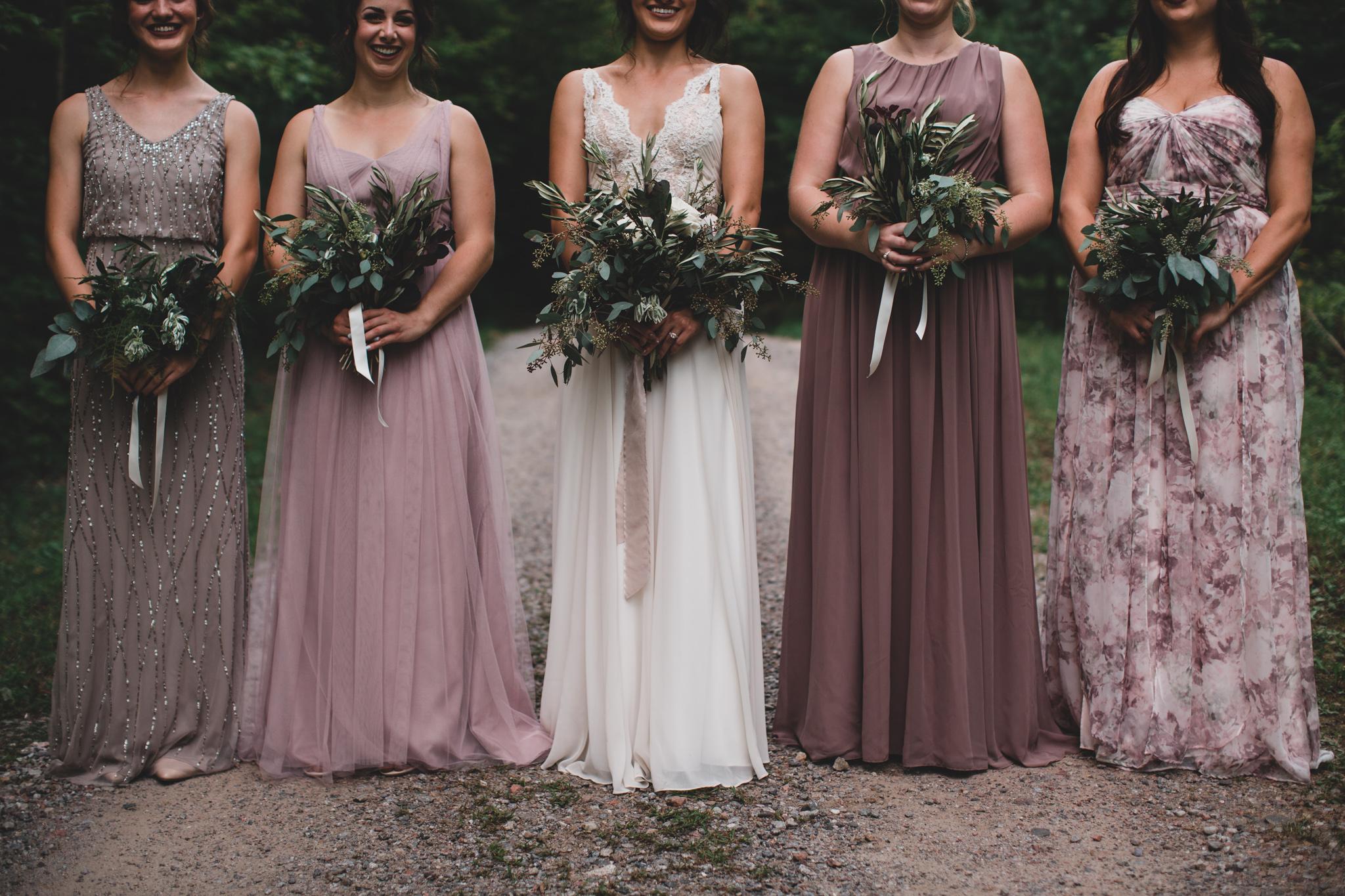 BLDHN Bridesmaid Dresses, Mix and Match