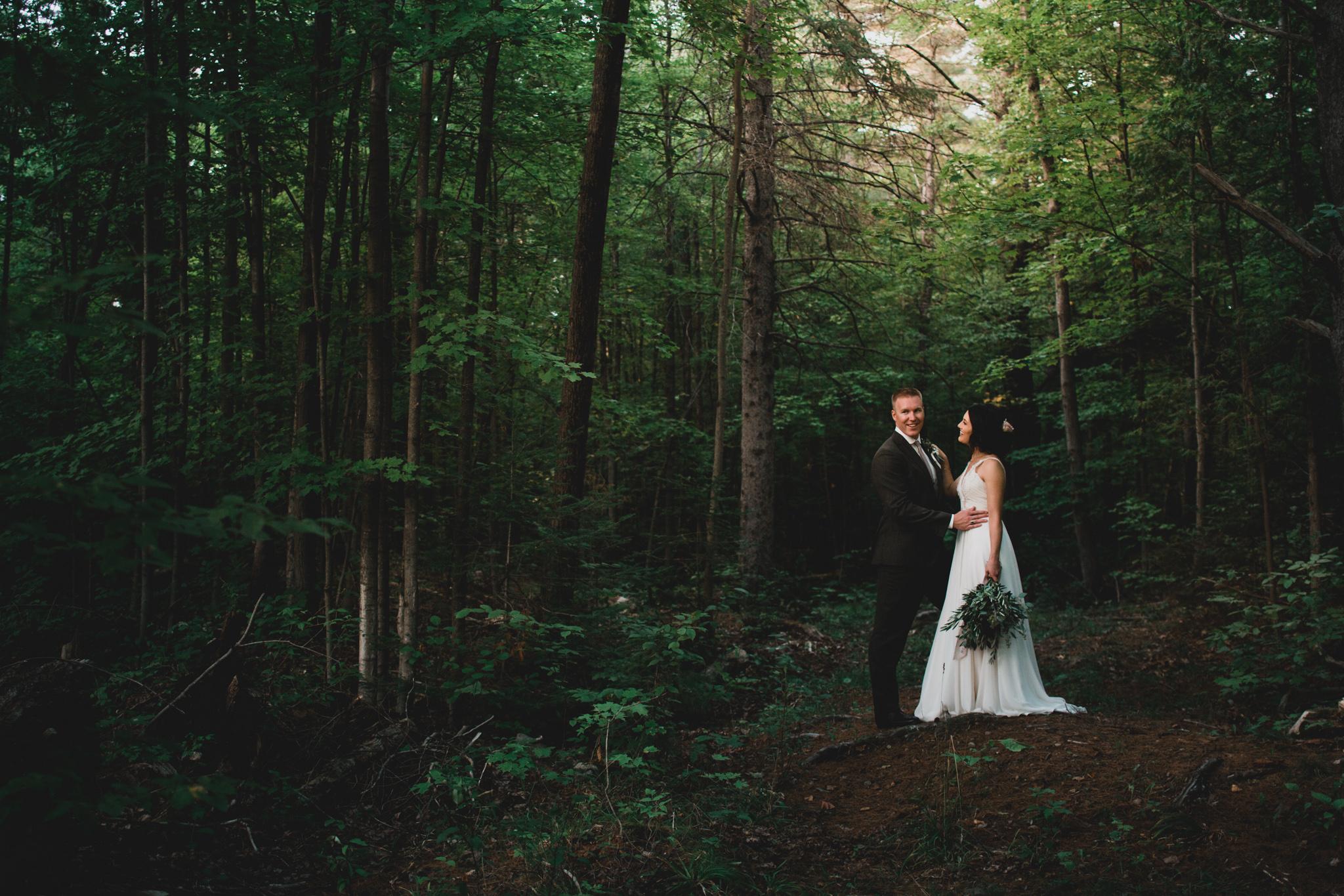 Natural, rustic wedding photography