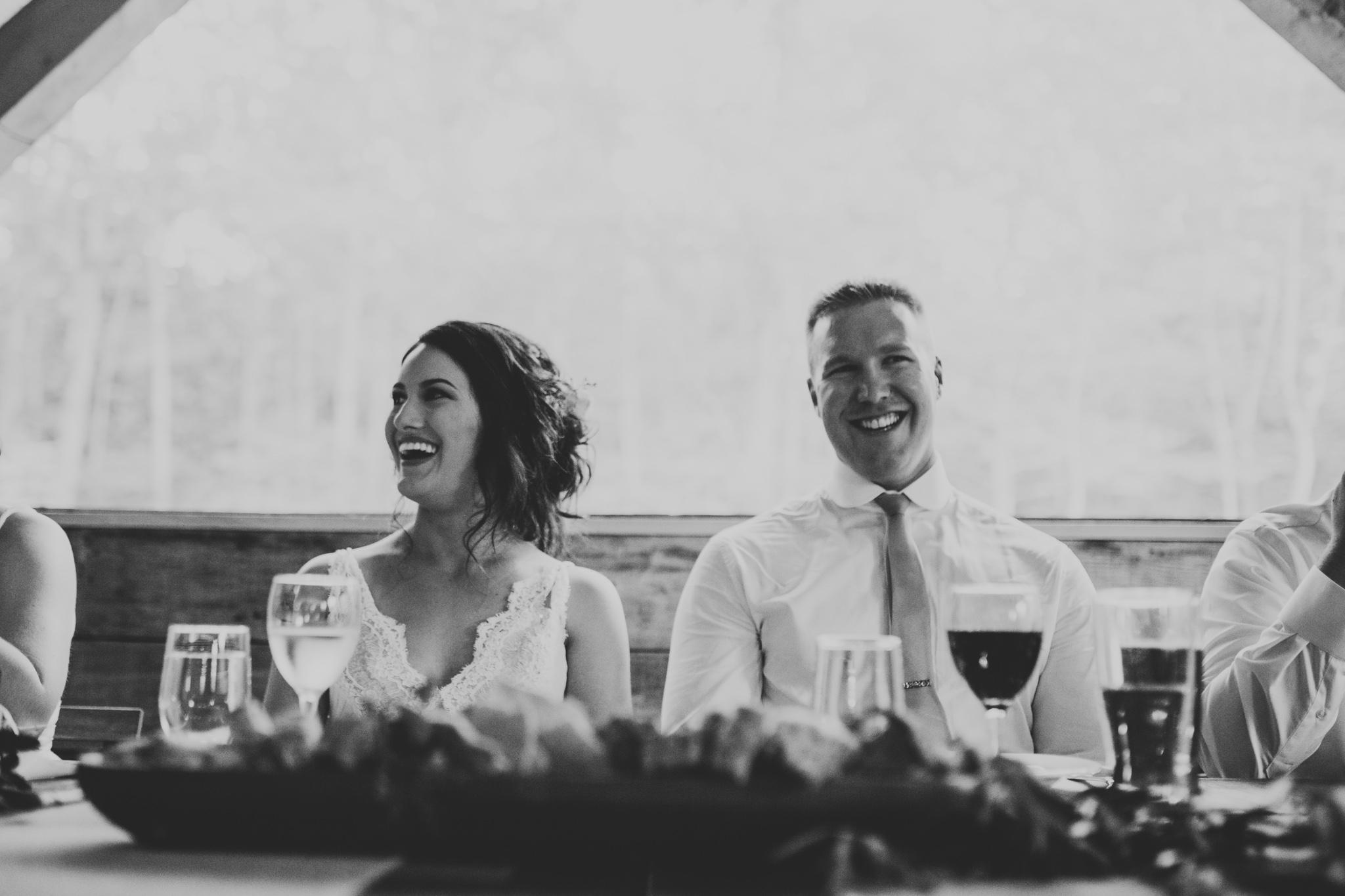 Moody, alternative wedding Eastern Ontario