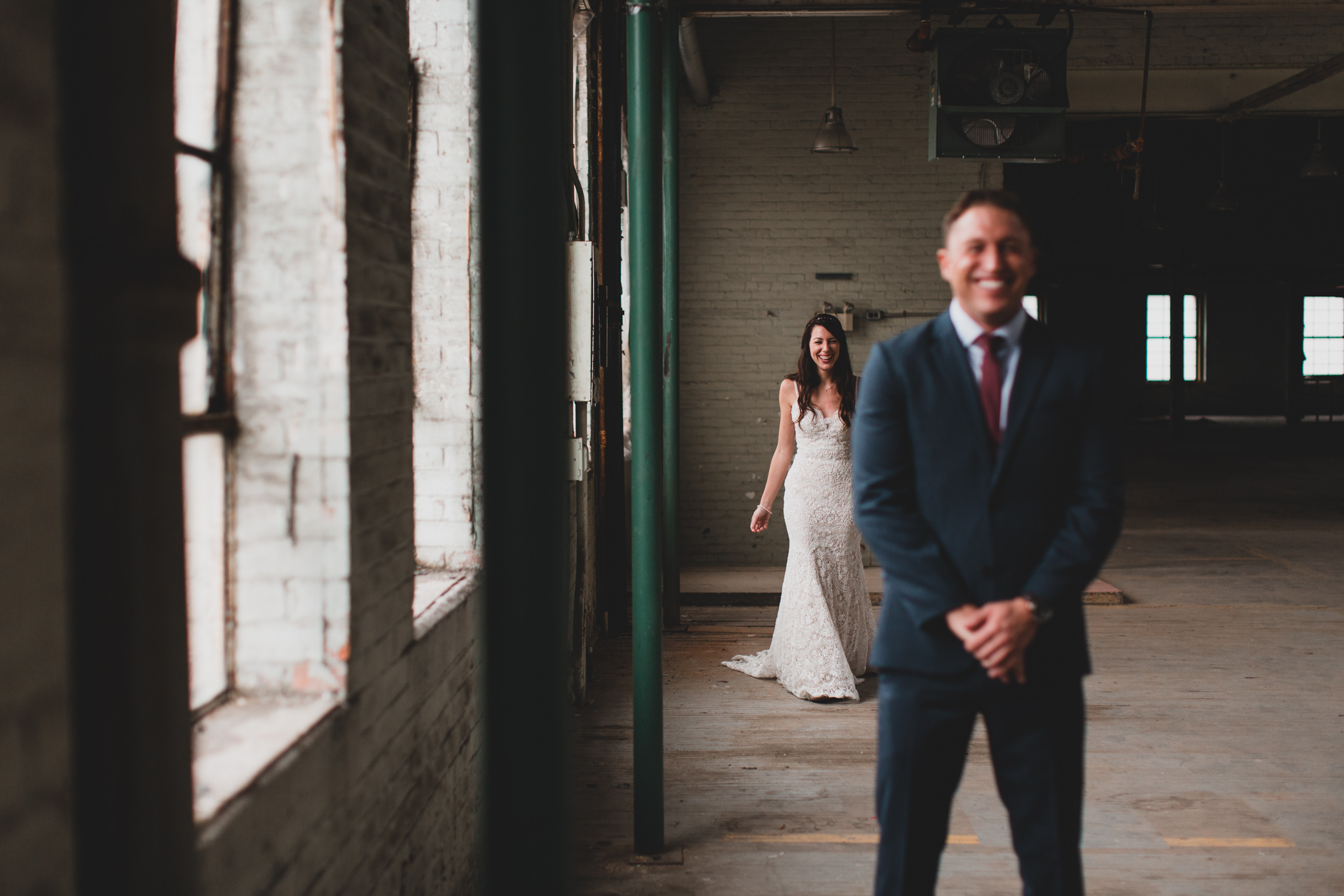First Look Ottawa Wedding