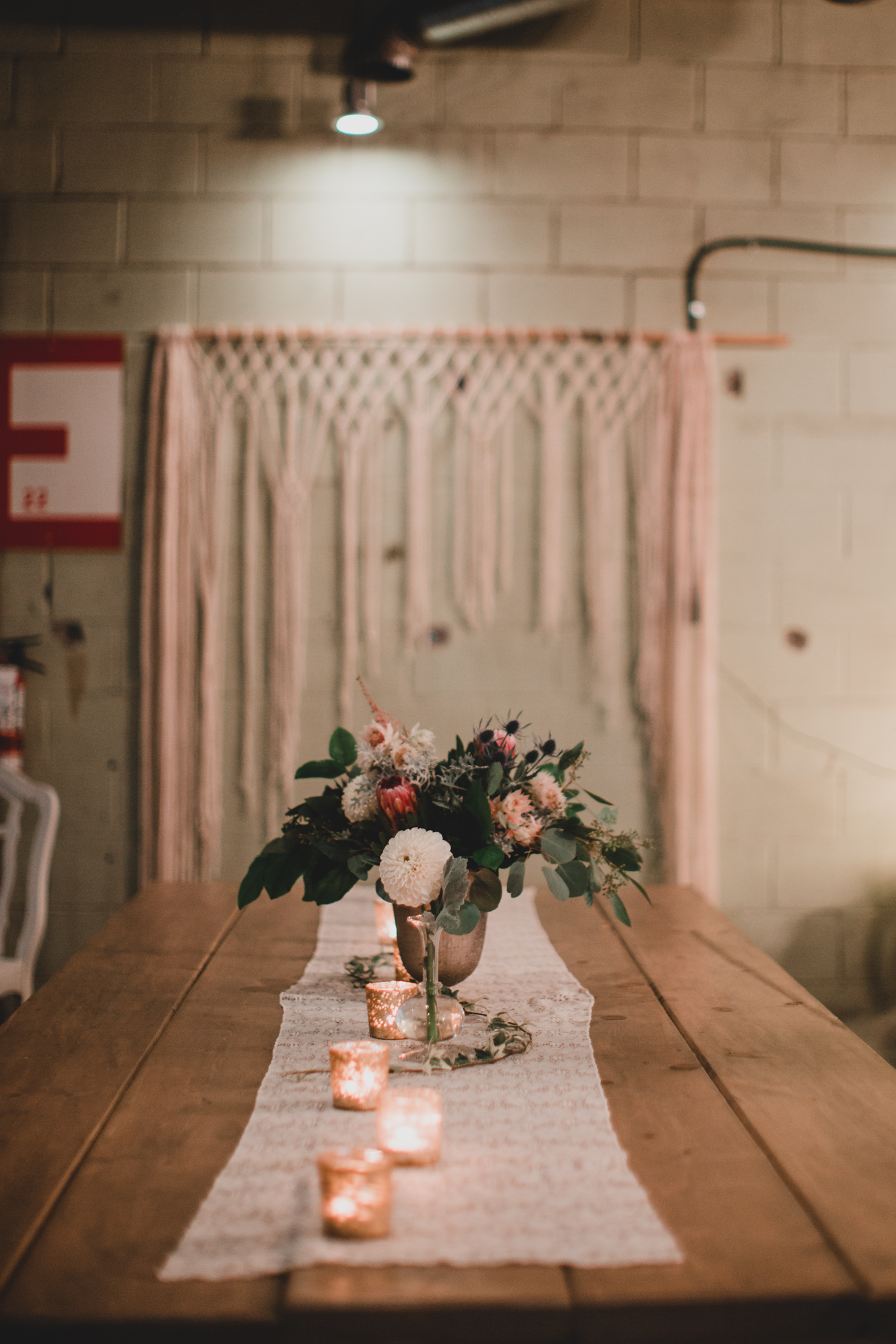 Zibi Wedding, Boho Macrame