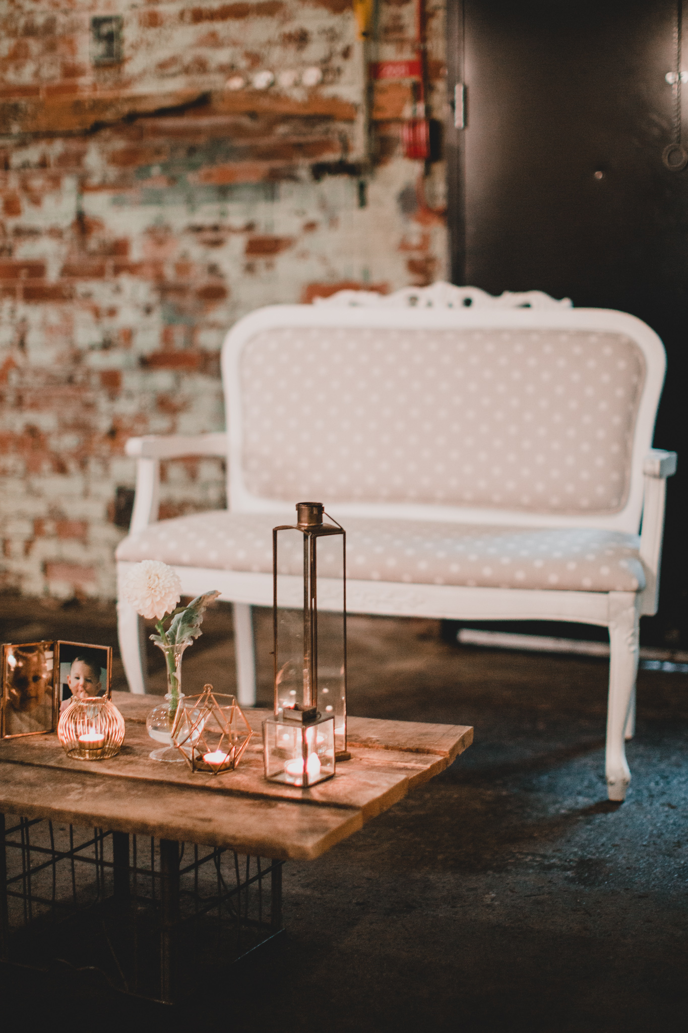 Makin' It Lovely, Vintage Furniture Rental, Wedding Decor