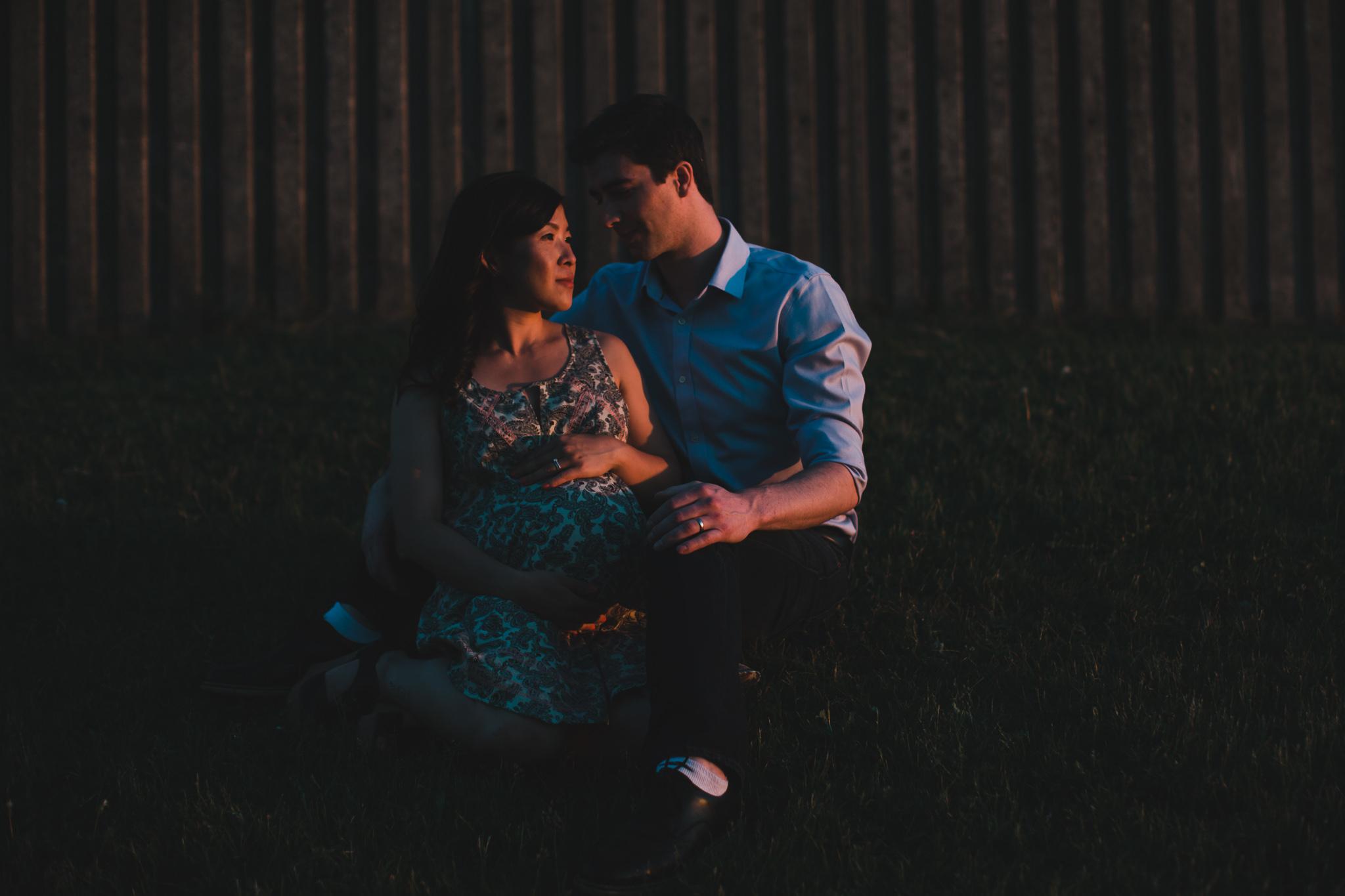 Maternity photo Ottawa Gatineau Jonathan Kuhn