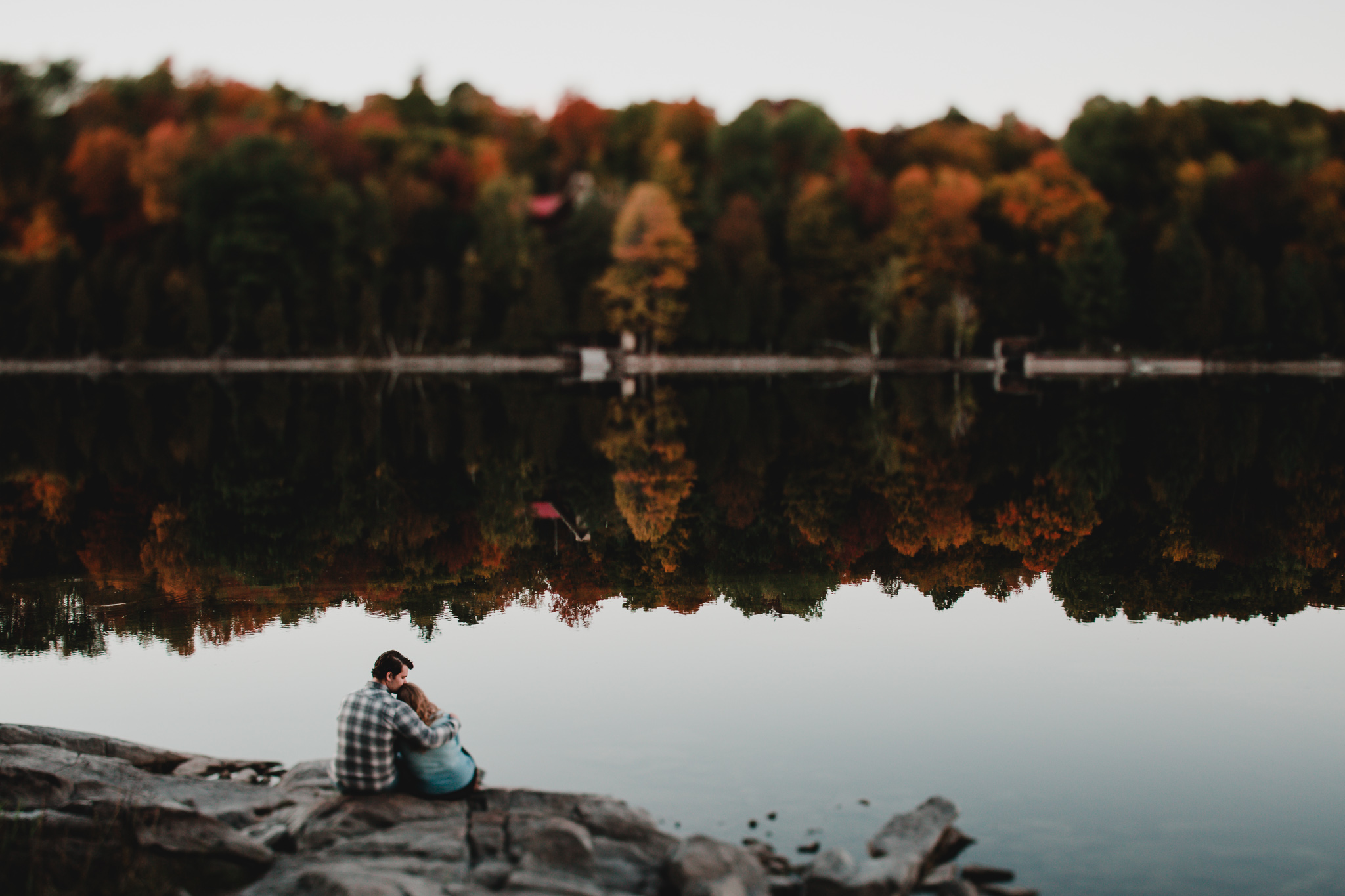 Fall lanark county engagement session