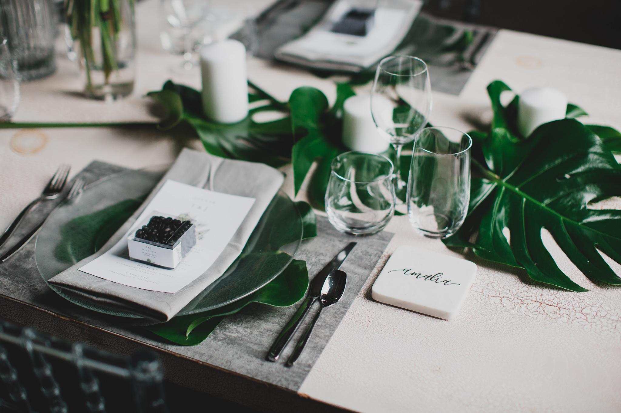 Industrial, grey wedding design, Ottawa