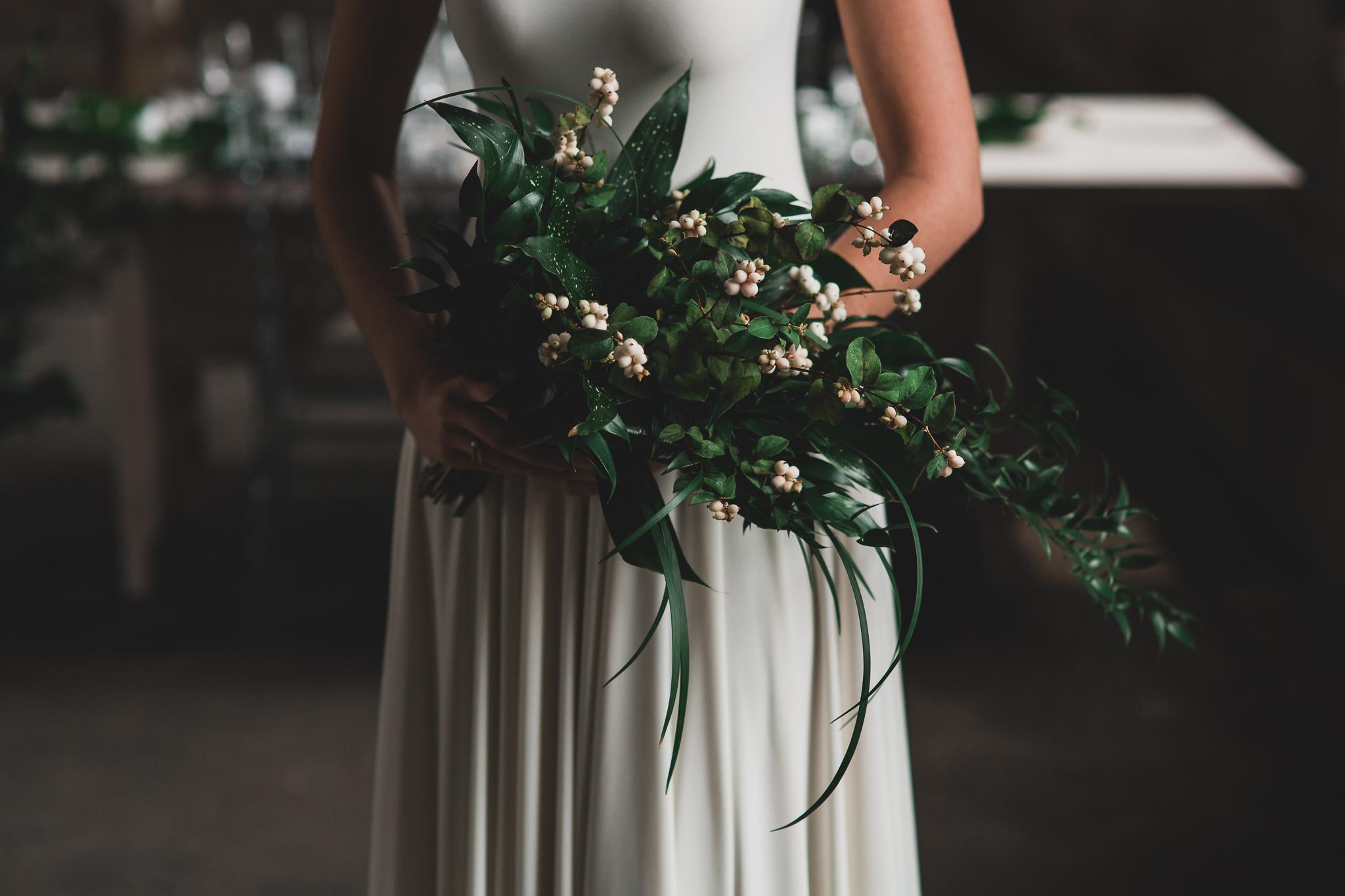 White, Greenery, Minimal Weddings Ottawa