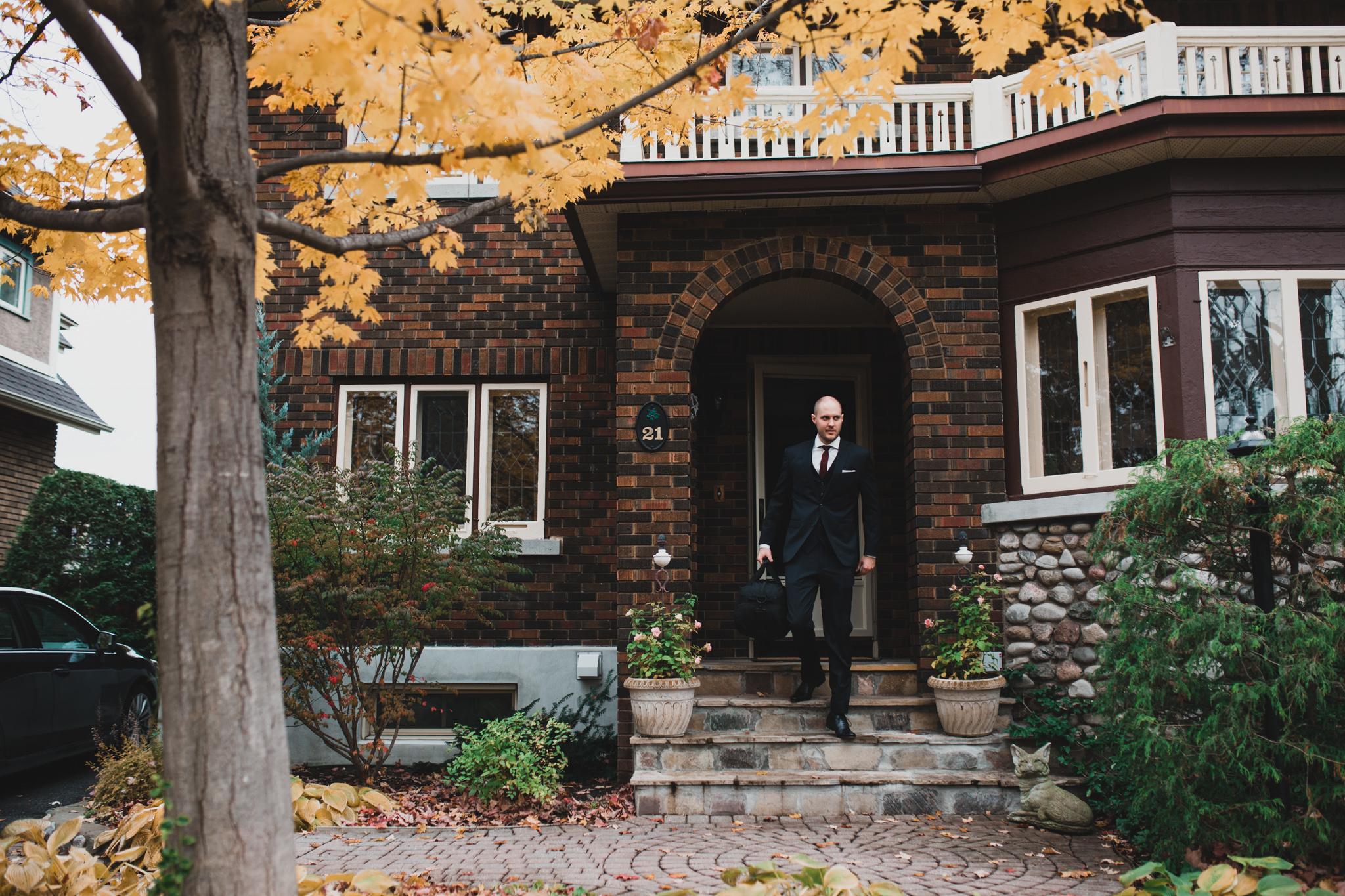 Ottawa Fall Wedding