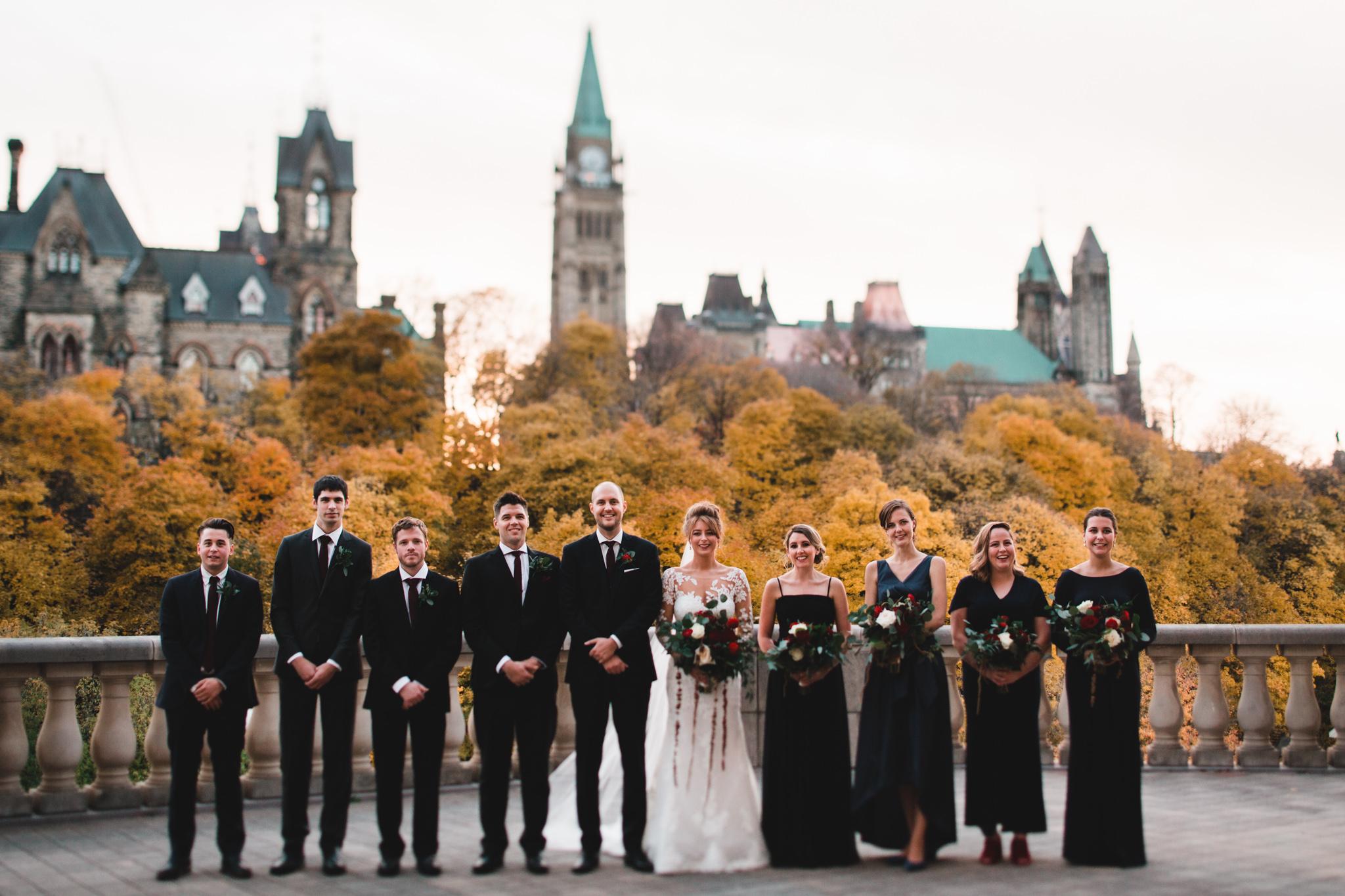 Chateau Laurier Fall Wedding