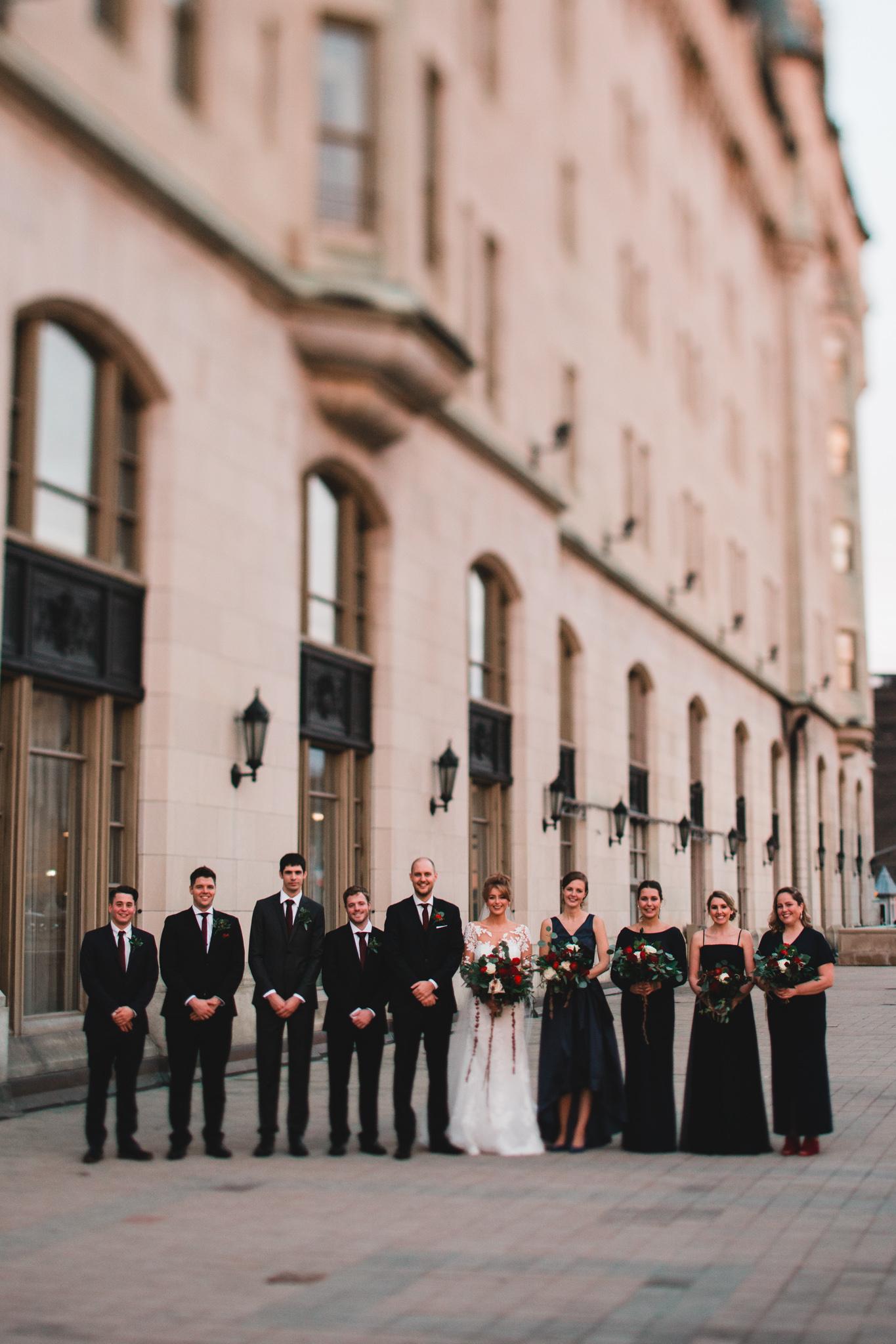 Modern, romantic Ottawa wedding