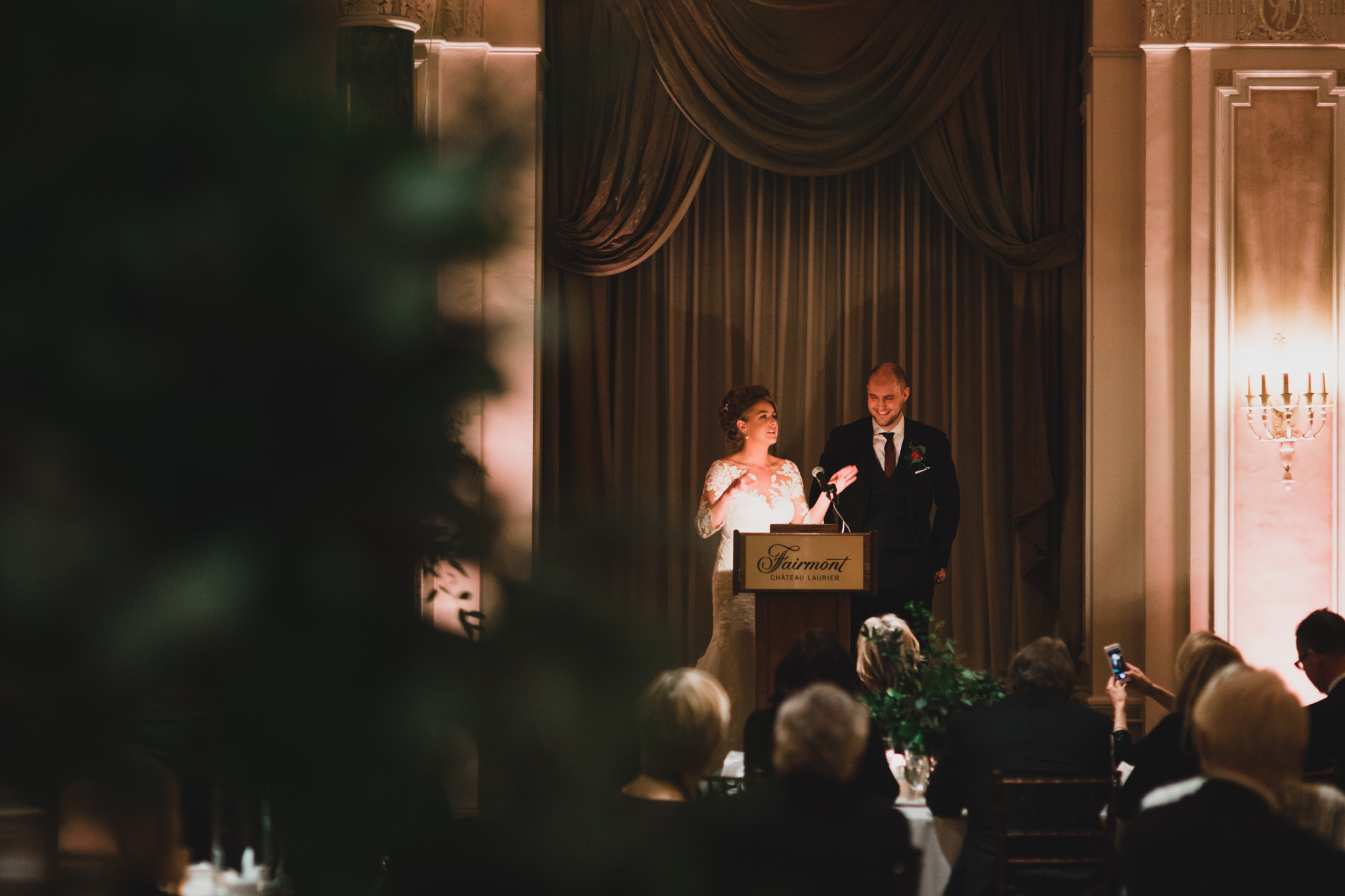 Chateau Laurier Drawing Room Wedding